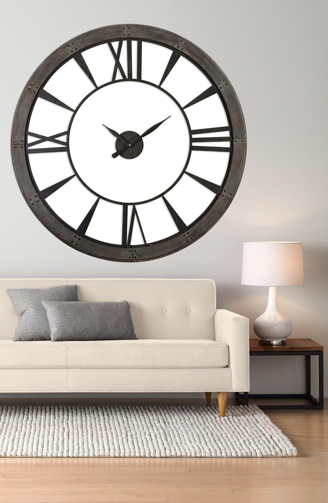 'Ronan' Wall Clock,                             Alternate thumbnail 3, color,                             001