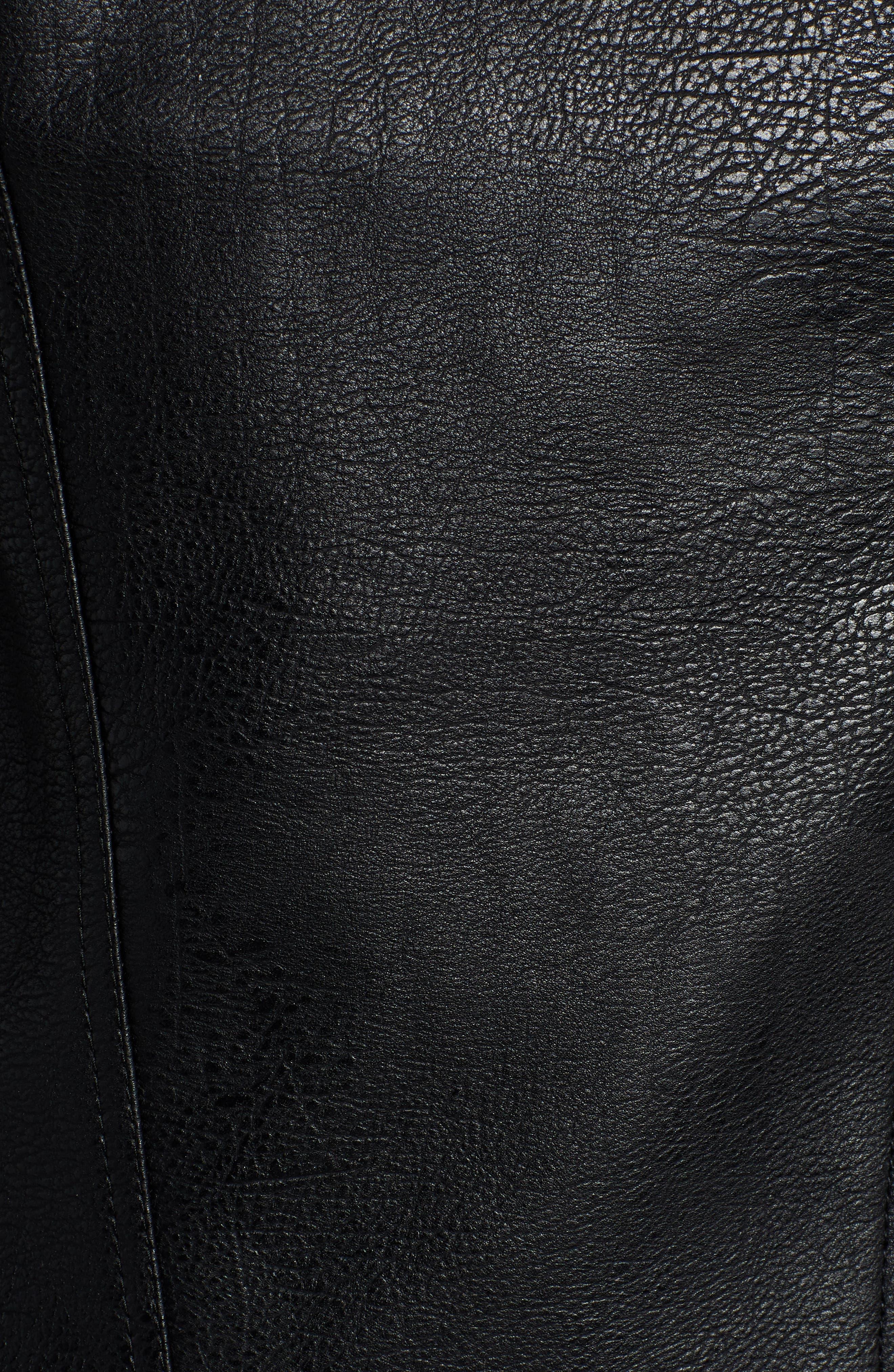 Moto Jacket,                             Alternate thumbnail 7, color,                             001
