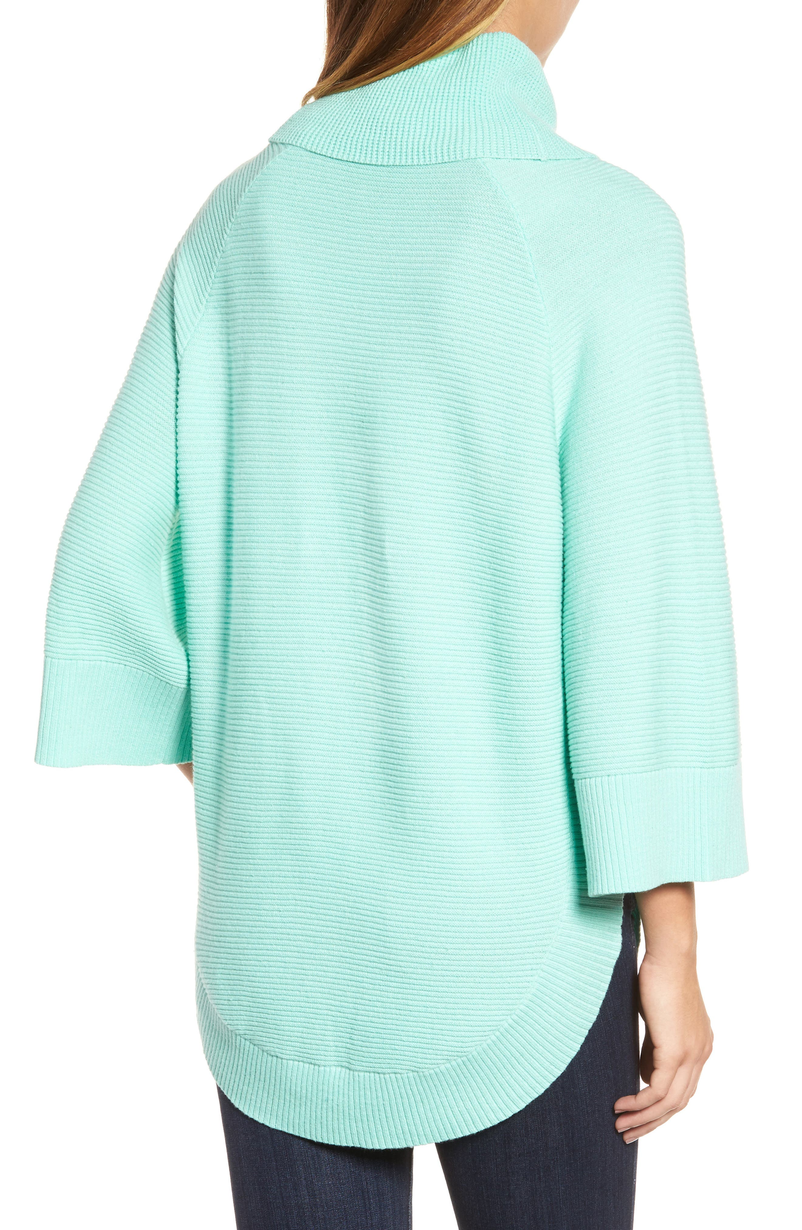 Cowl Neck Shirttail Hem Sweater,                             Alternate thumbnail 2, color,                             336