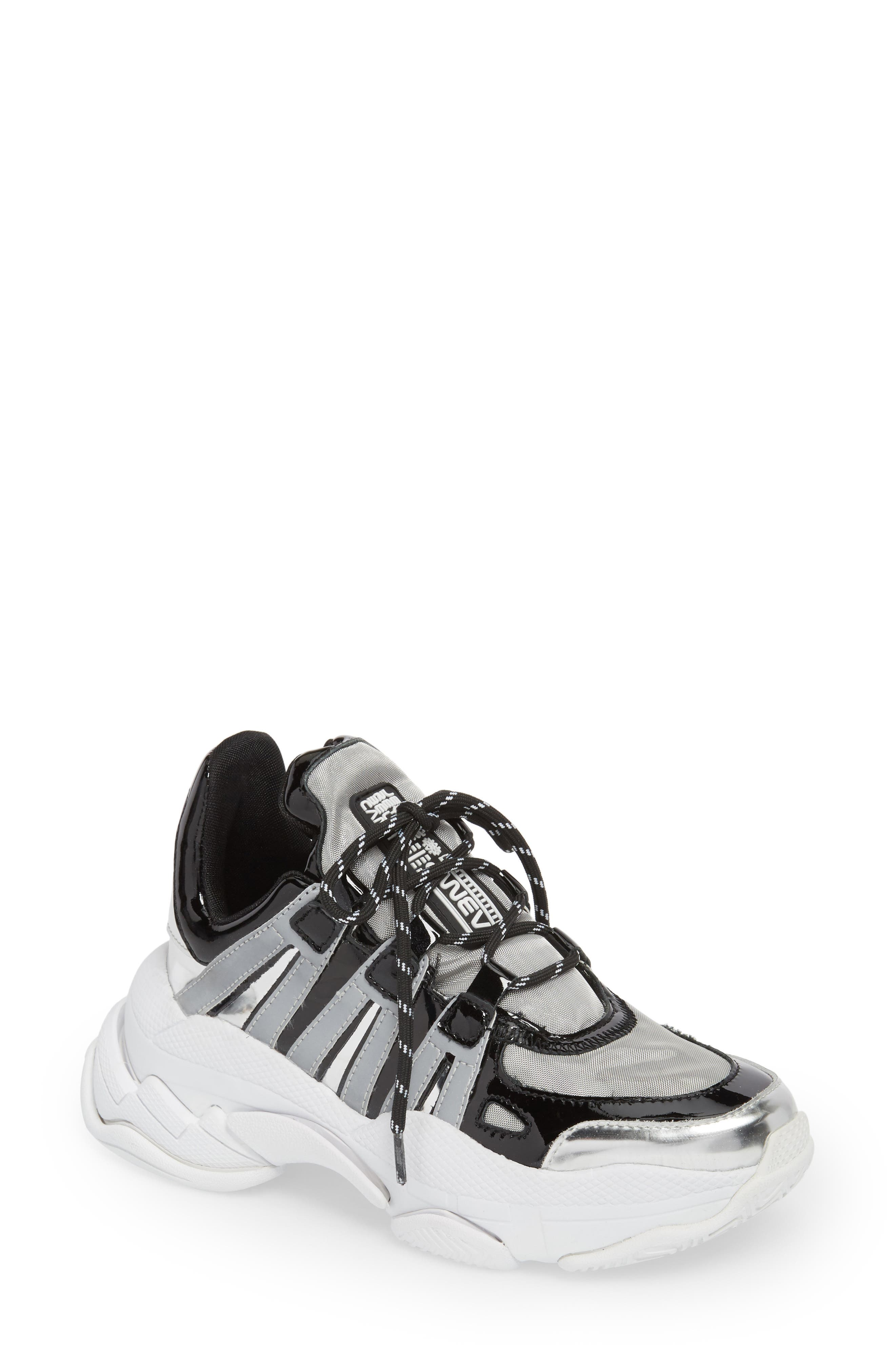 WiFi Sneaker,                         Main,                         color, SILVER MULTI