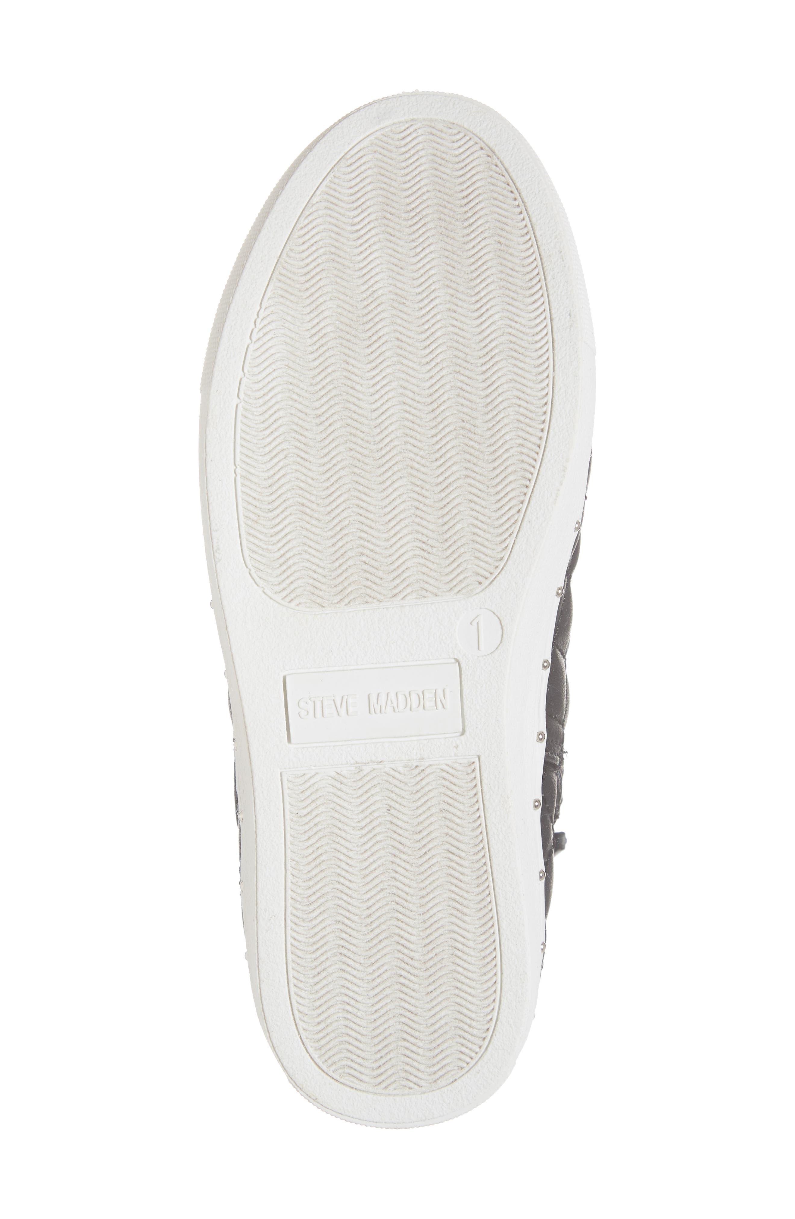 JQuest High Top Platform Sneaker,                             Alternate thumbnail 6, color,                             BLACK