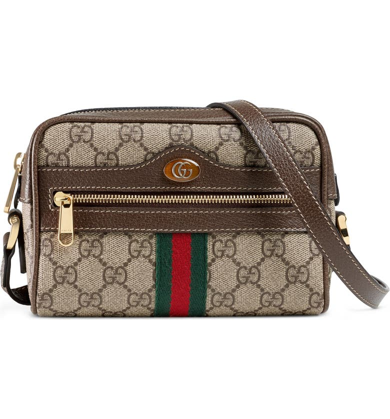 Gucci Ophidia Small GG Supreme Canvas Crossbody Bag  55a0647f94690