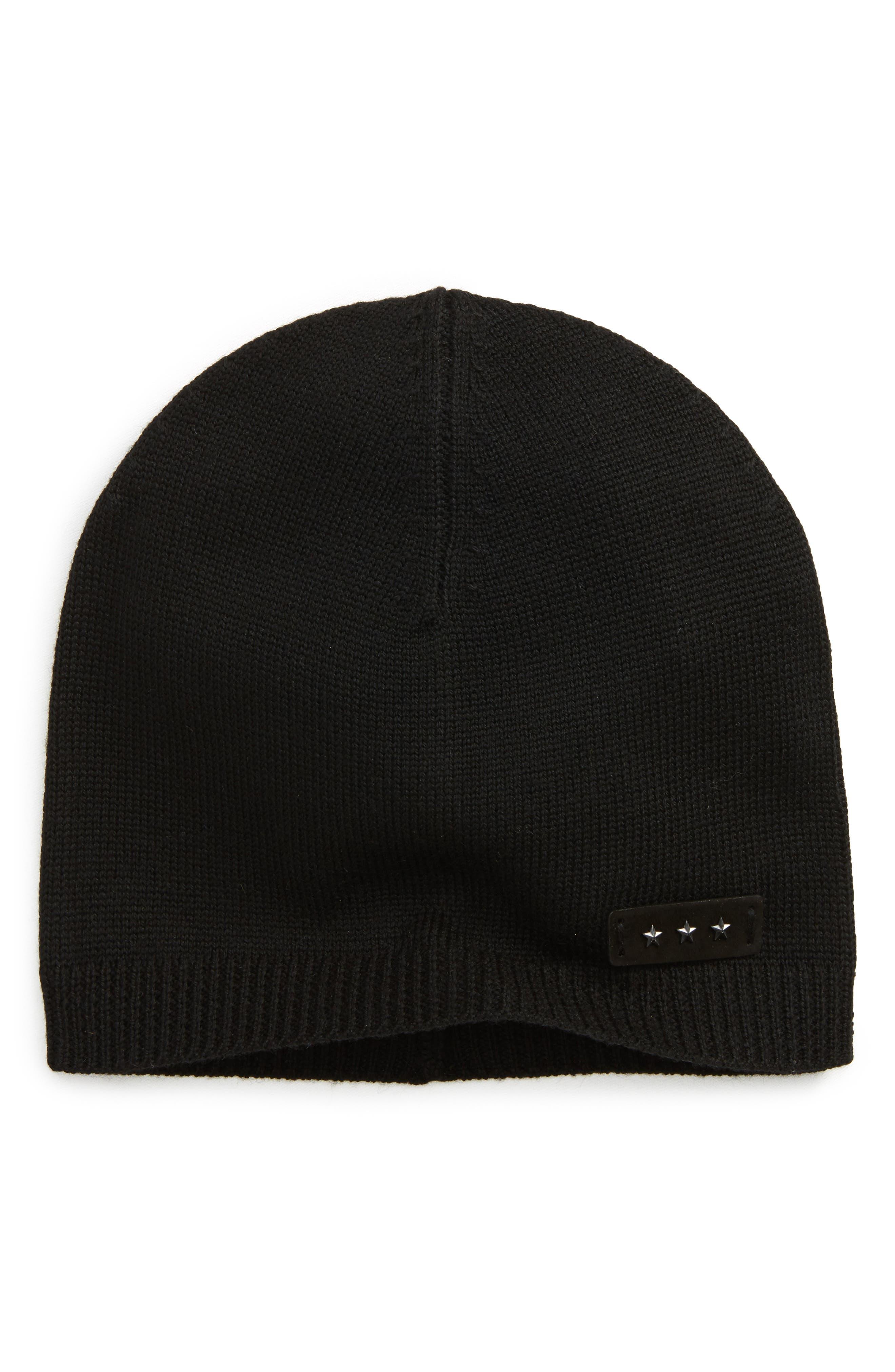 Jersey Knit Skull Cap,                         Main,                         color, 001