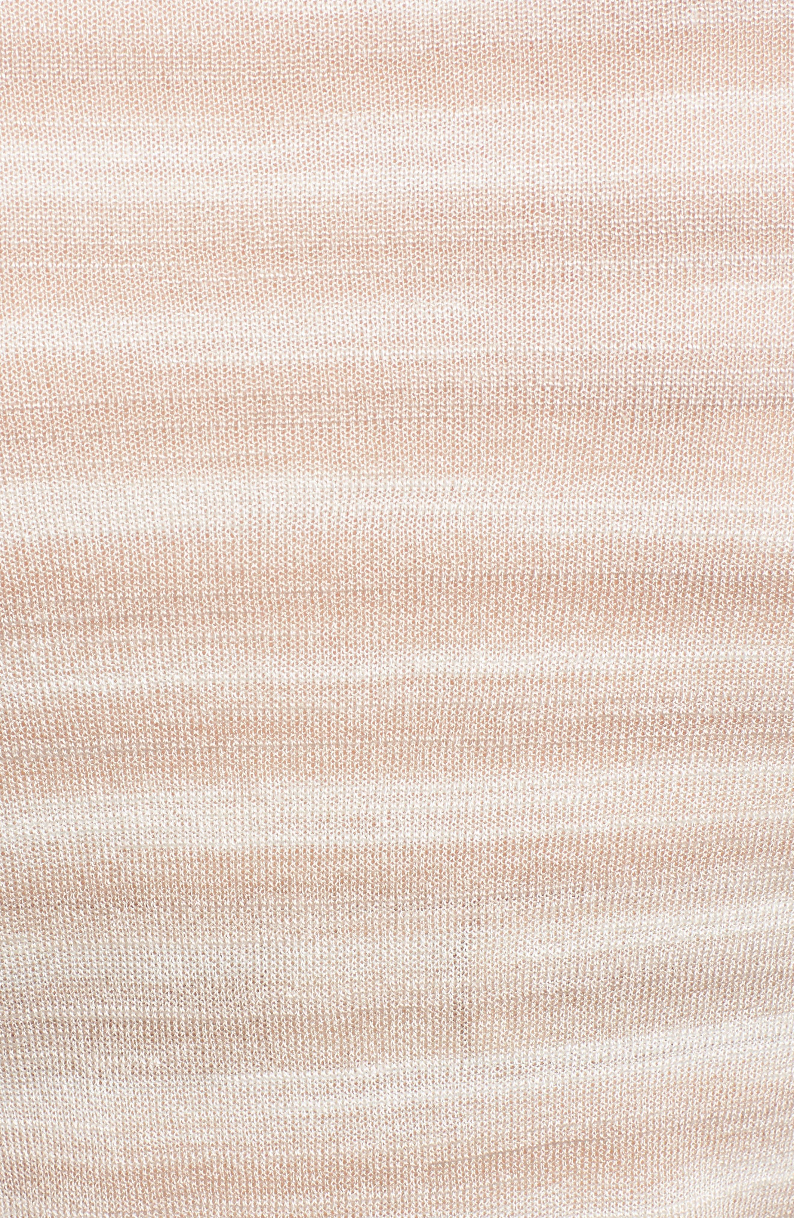 Gradient Stripe Sweater,                             Alternate thumbnail 5, color,                             250