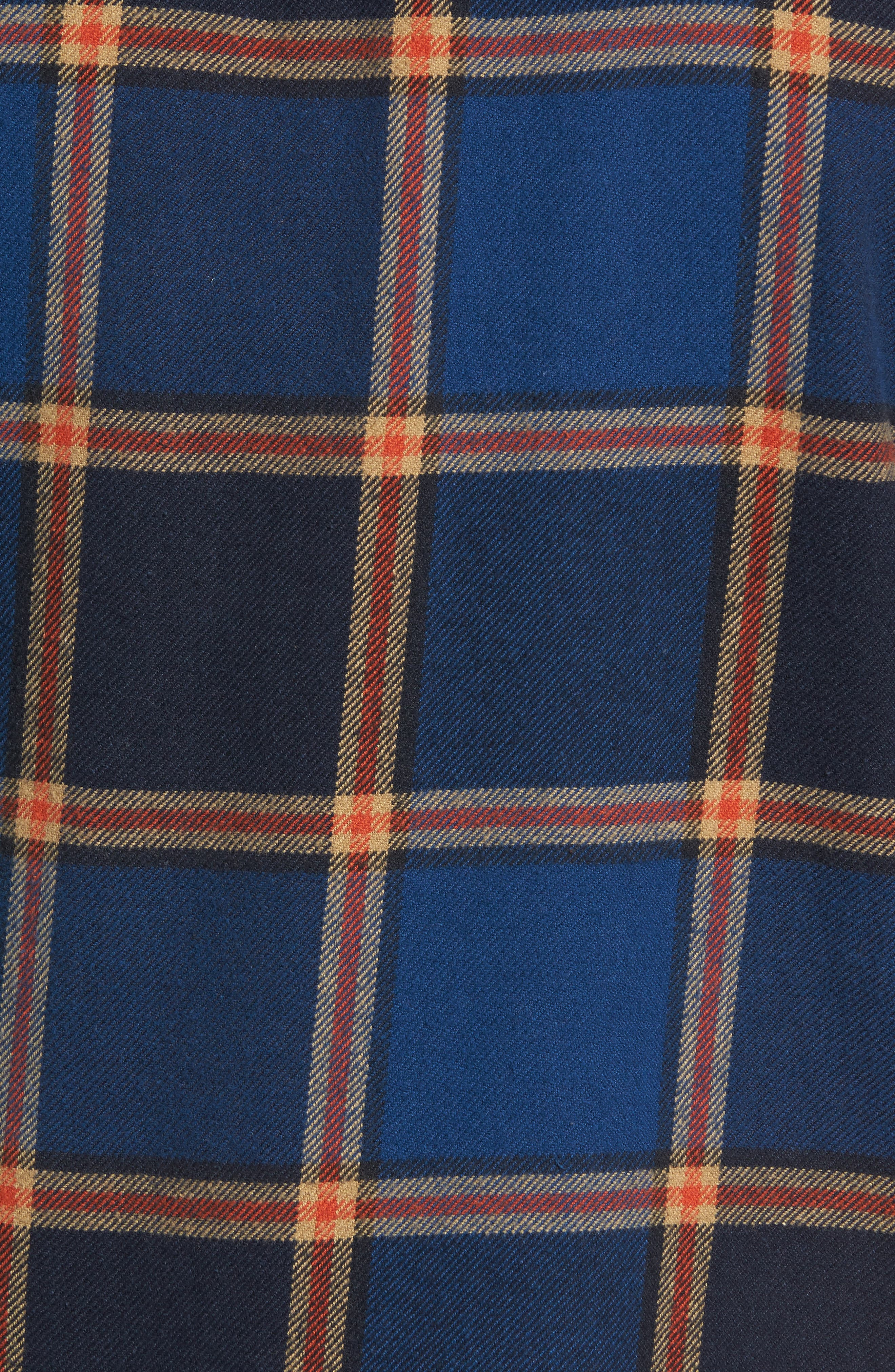 R1 Check Twill Shirt Jacket,                             Alternate thumbnail 5, color,                             410