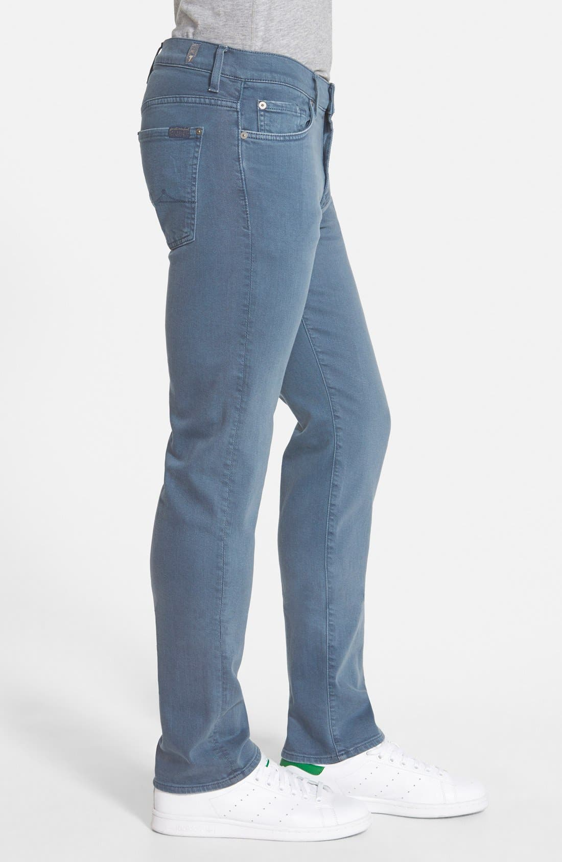 'Slimmy - Luxe Performance' Slim Fit Jeans,                             Alternate thumbnail 31, color,