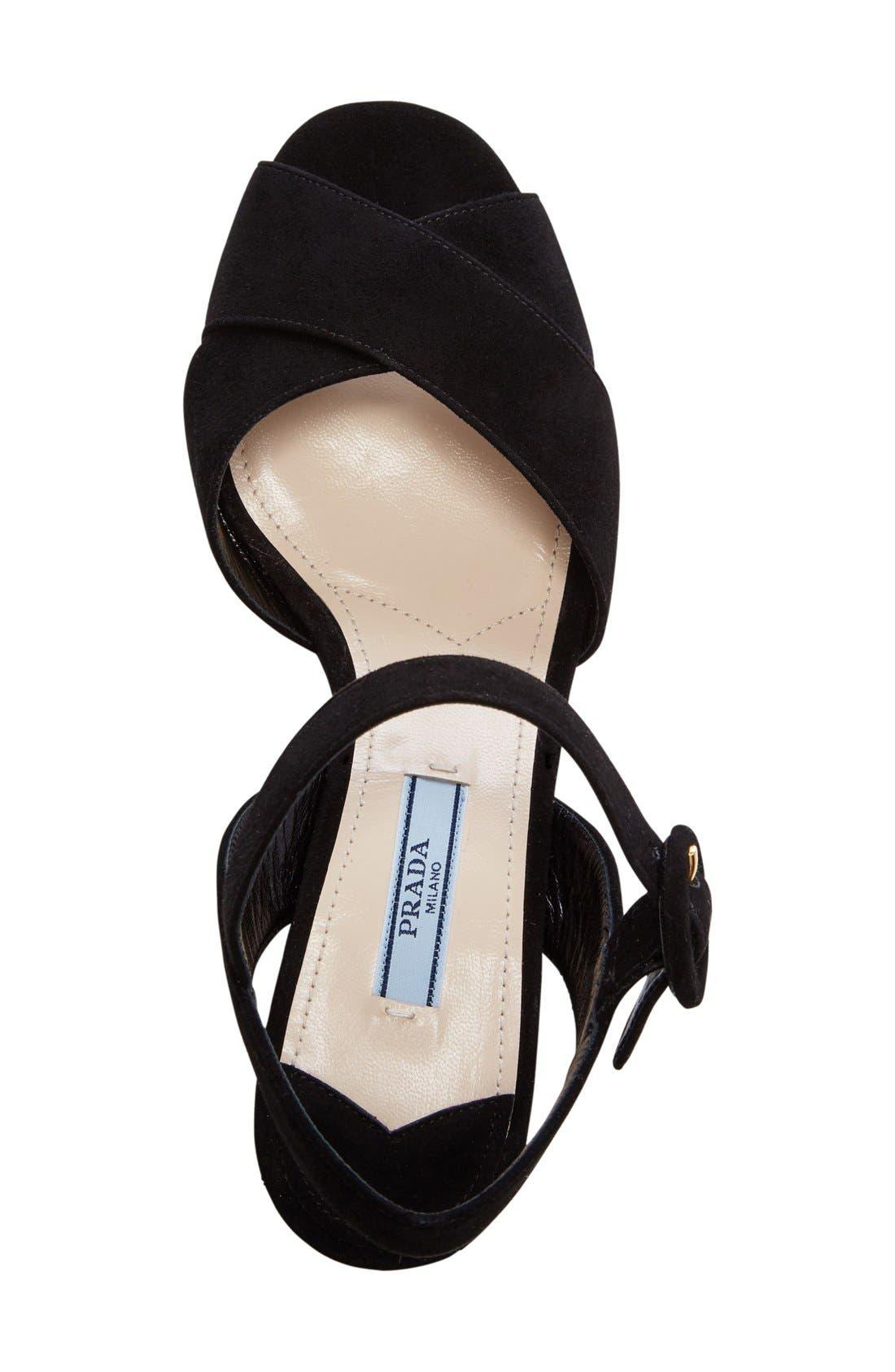Strappy Platform Sandal,                             Alternate thumbnail 2, color,                             001