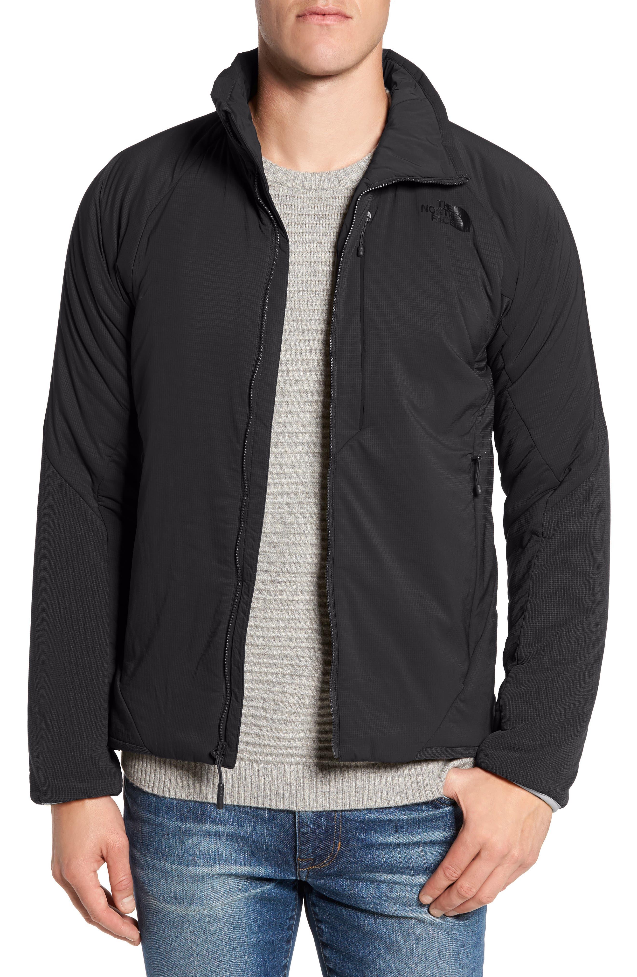 Ventrix Water Resistant Ripstop Jacket,                             Main thumbnail 1, color,                             BLACK/ BLACK