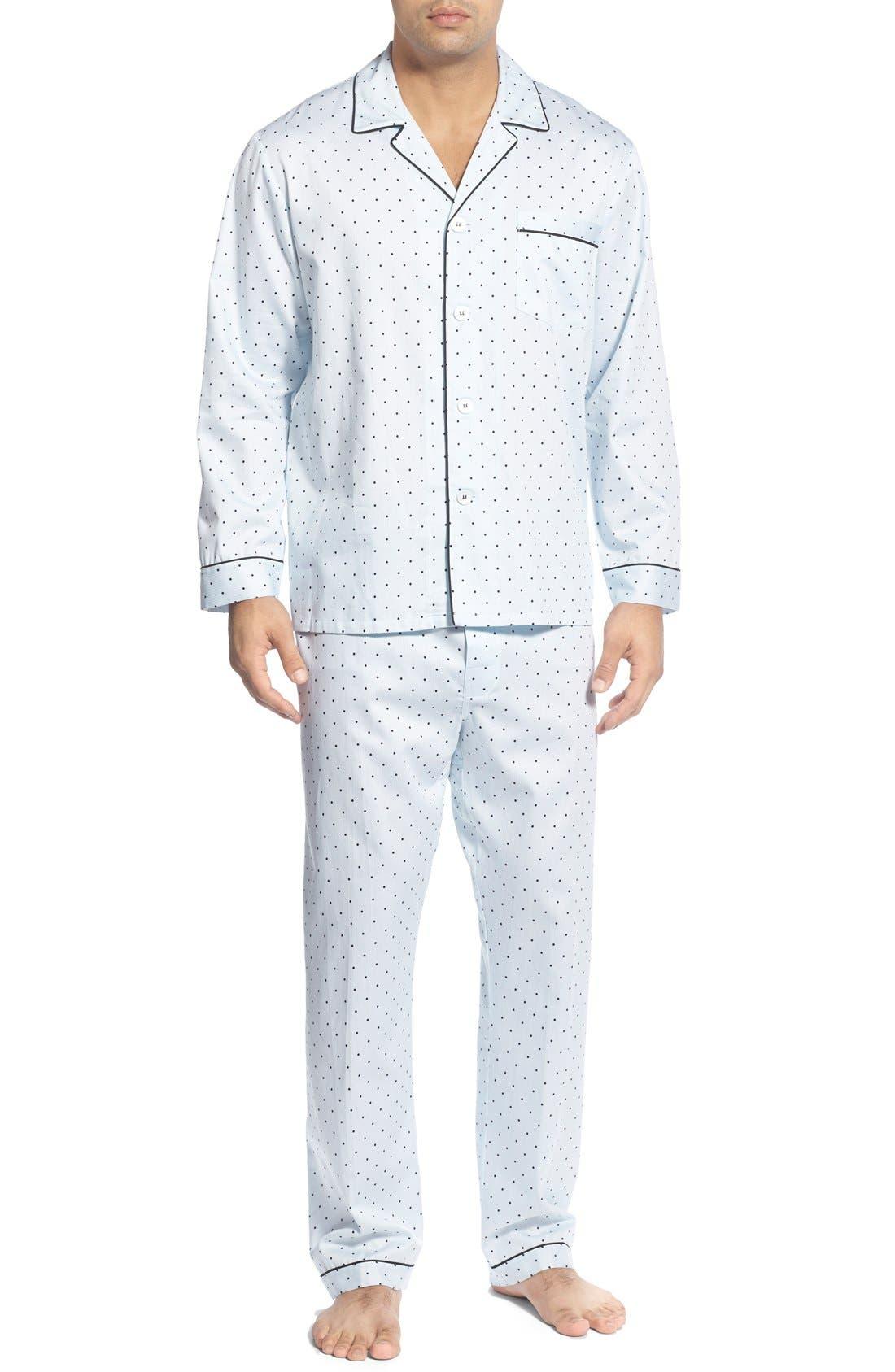 'Twilight' Cotton Pajamas,                             Main thumbnail 1, color,