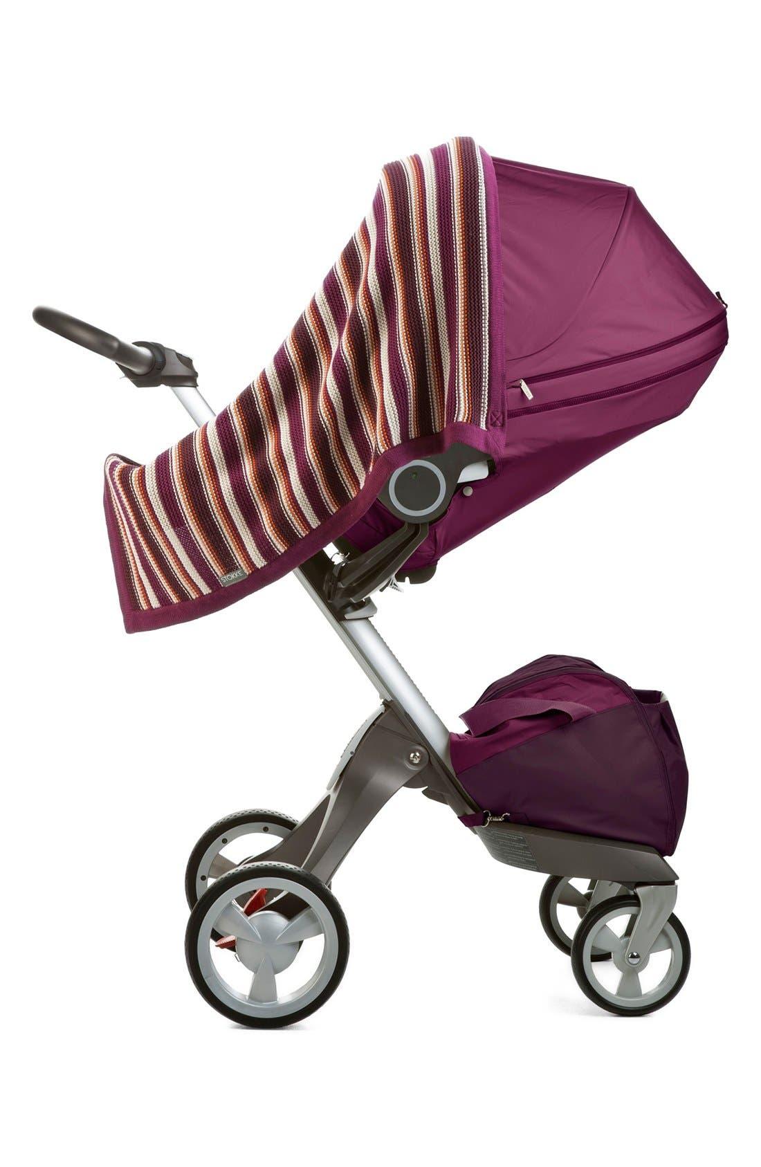 STOKKE,                             Baby Stroller Knit Blanket,                             Alternate thumbnail 2, color,                             500