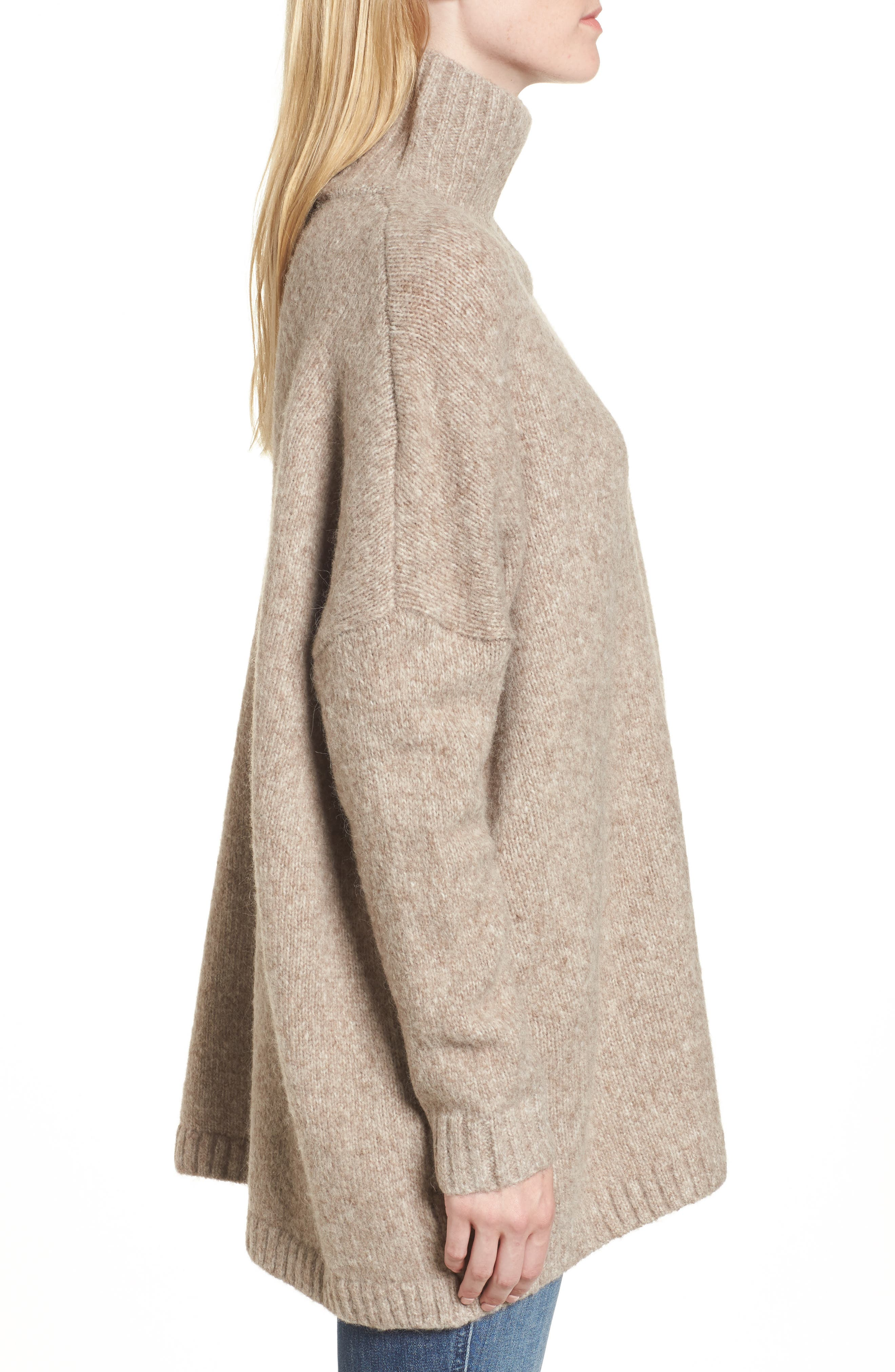 Ora Mock Neck Sweater,                             Alternate thumbnail 3, color,                             250