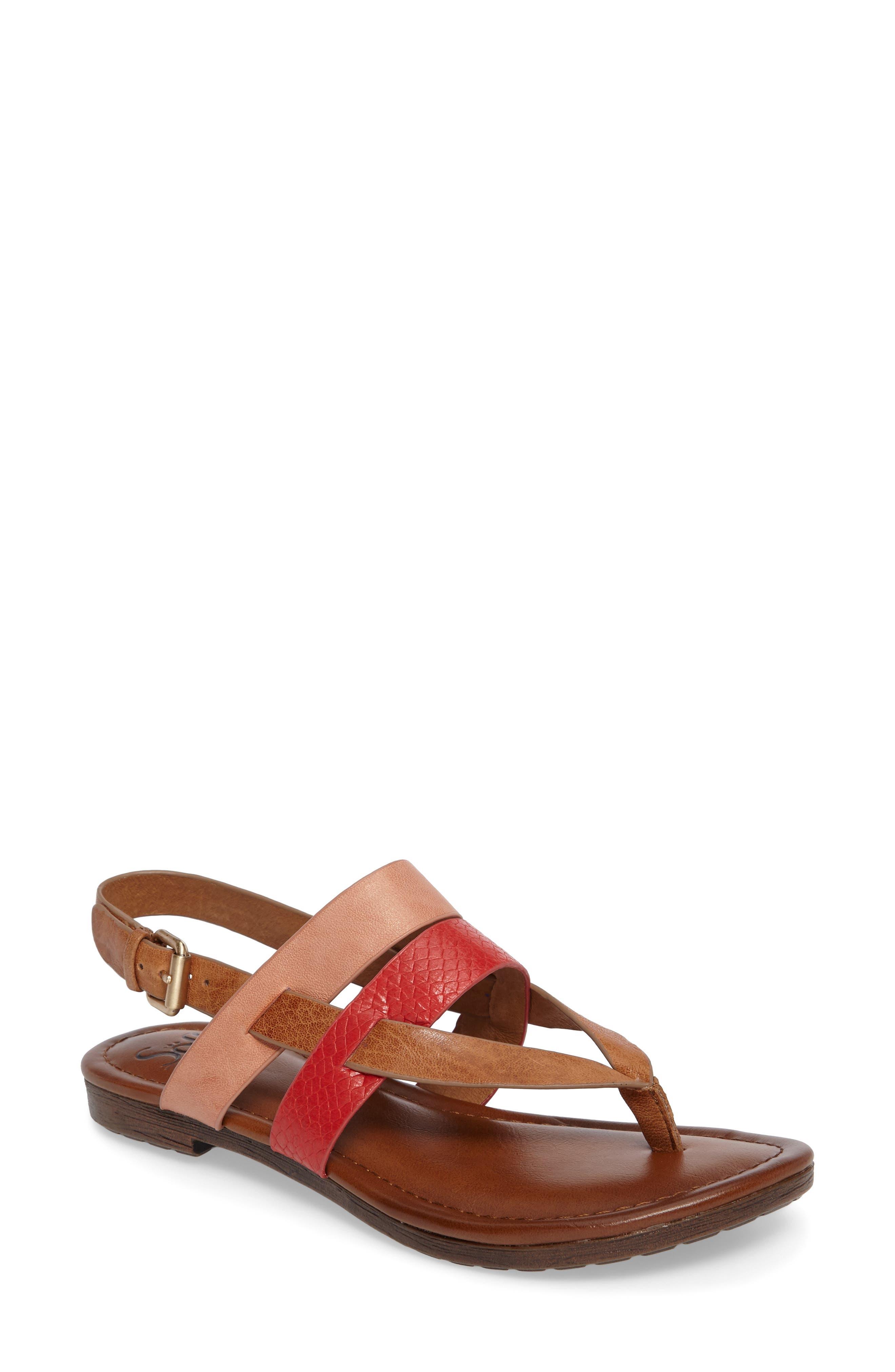 Bena Strappy Sandal,                             Main thumbnail 2, color,