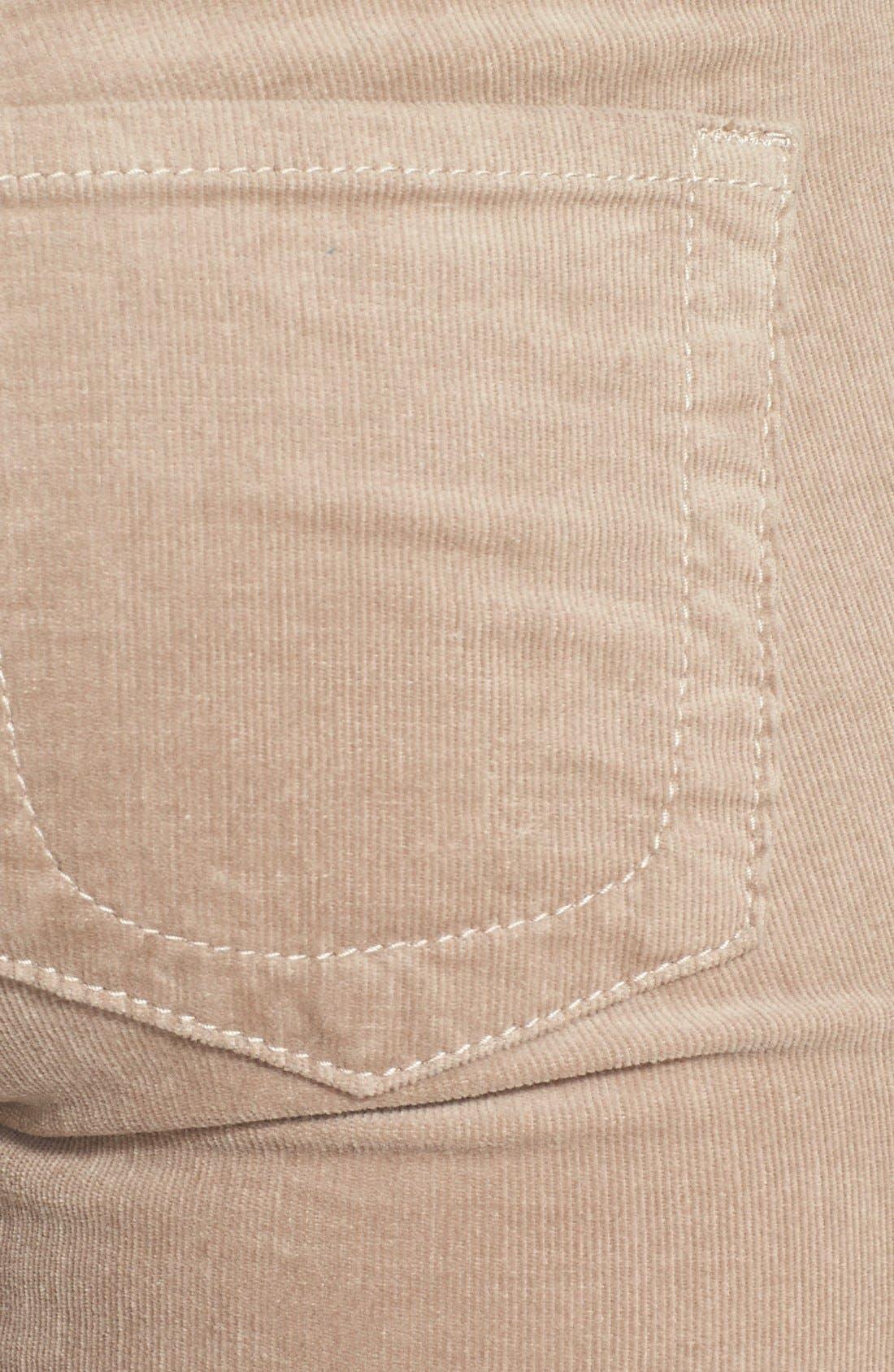 'Diana' Stretch Corduroy Skinny Pants,                             Alternate thumbnail 228, color,