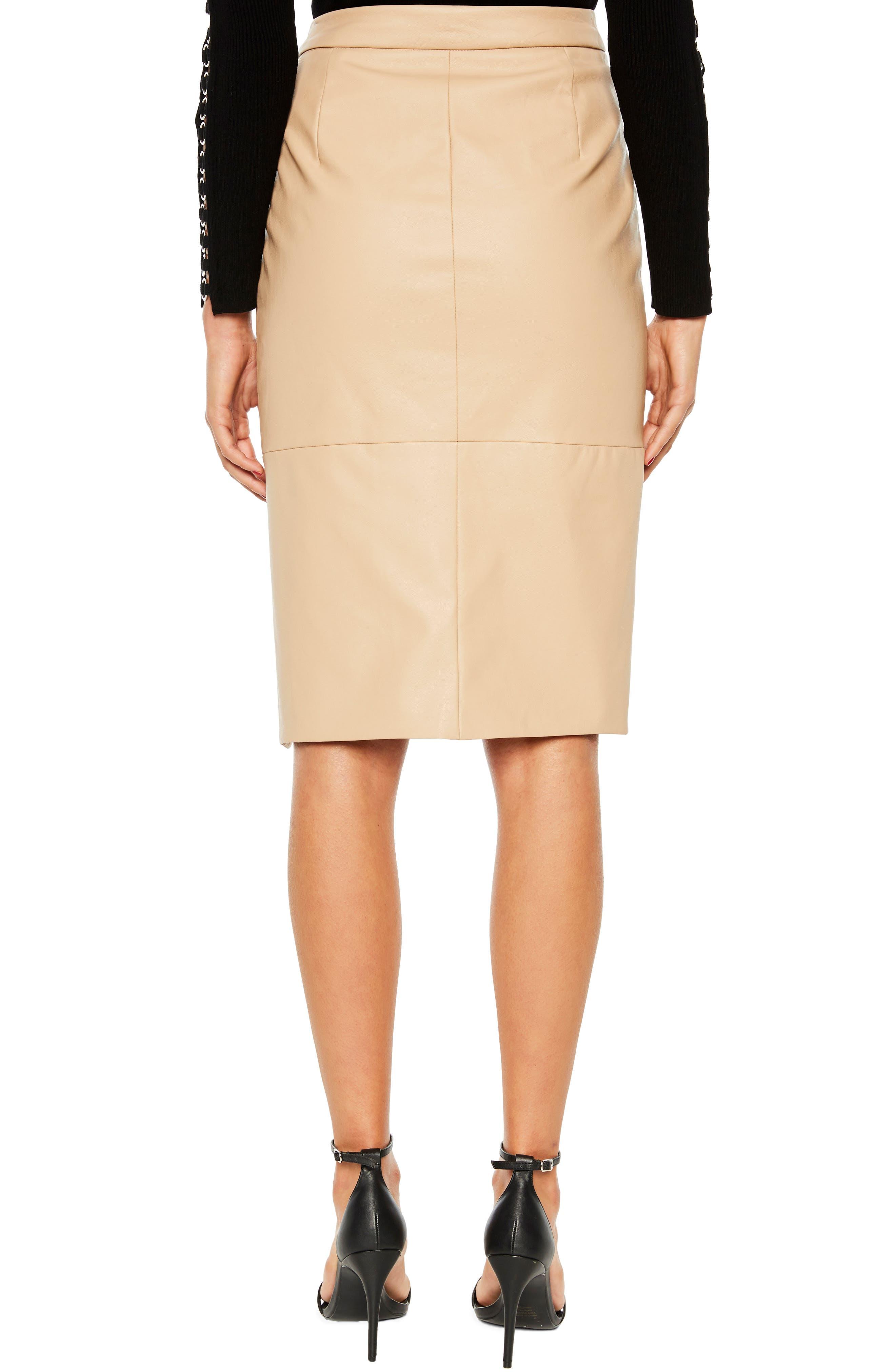 Dee Faux Leather Pencil Skirt,                             Alternate thumbnail 2, color,                             250