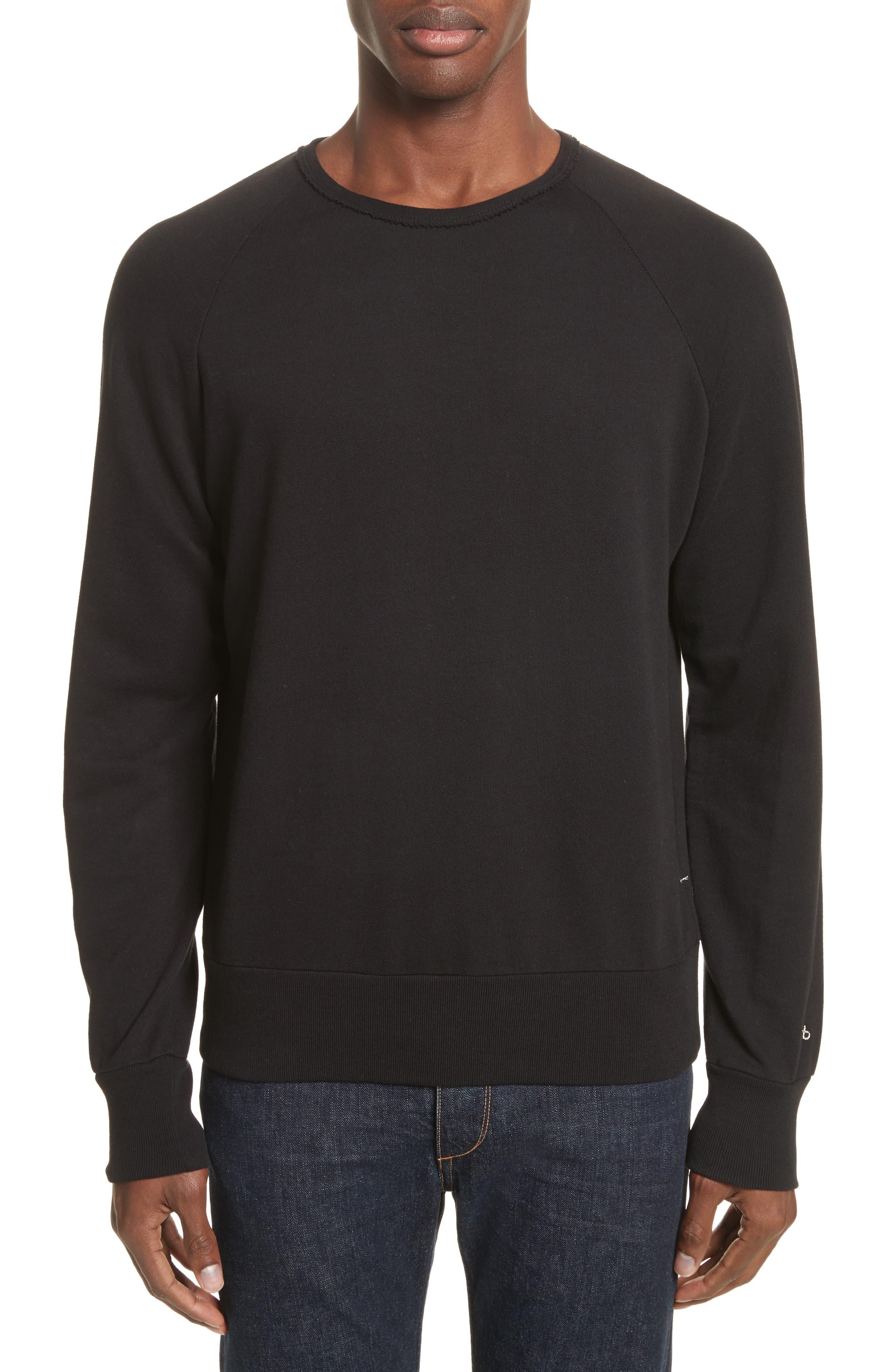 Standard Issue Crewneck Sweatshirt,                         Main,                         color, 001