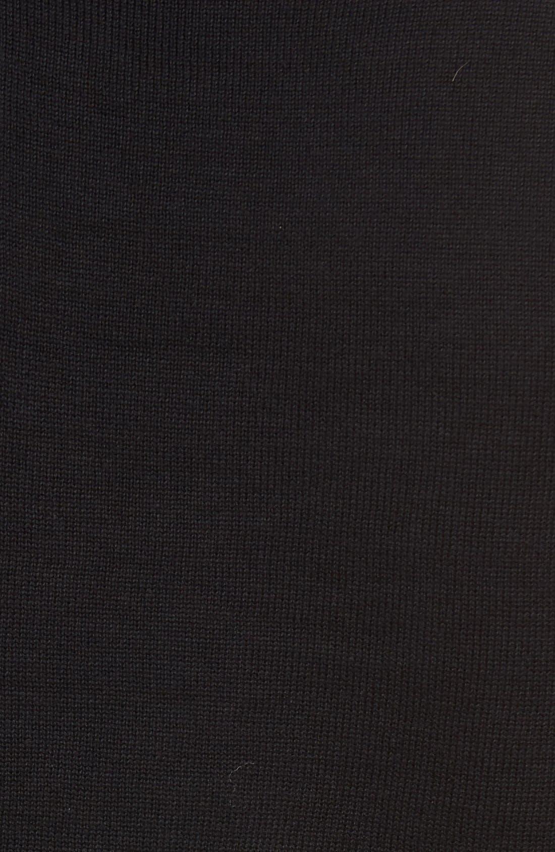 Quarter Zip Sweater,                             Alternate thumbnail 5, color,                             001