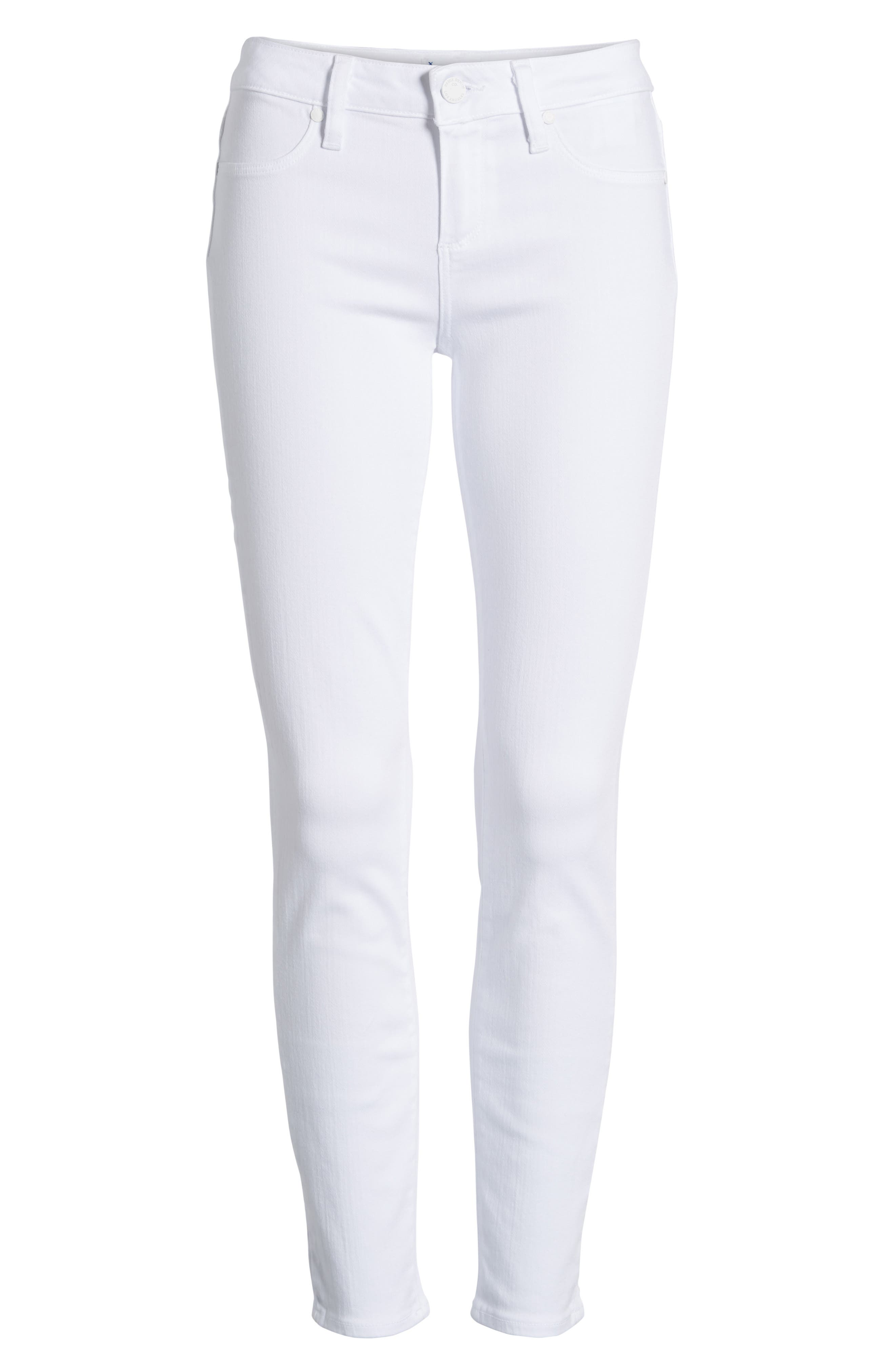 'Verdugo' Ankle Skinny Jeans,                             Main thumbnail 1, color,                             ULTRA WHITE