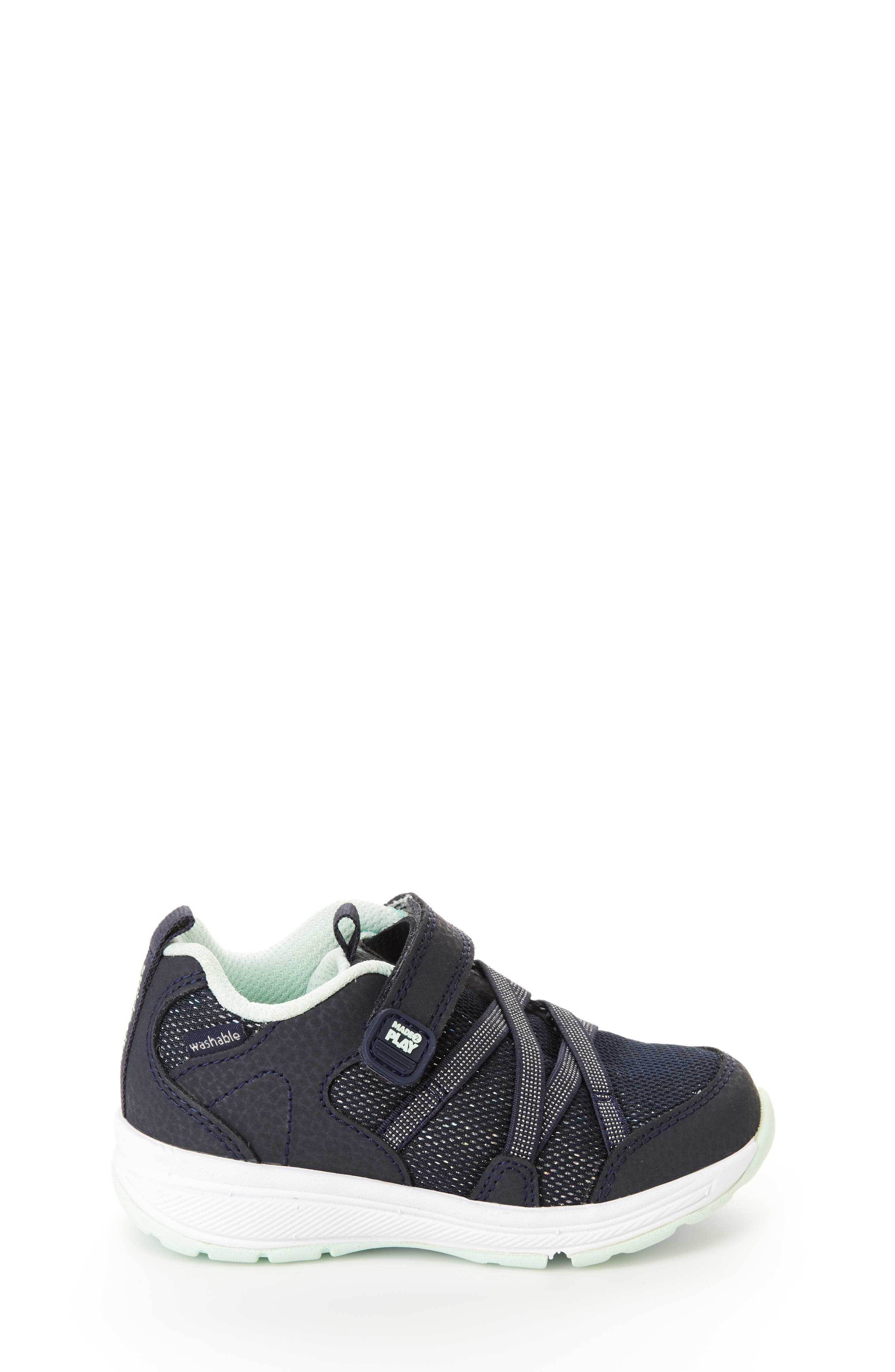 Emmy Made2Play<sup>®</sup> Washable Sneaker,                             Alternate thumbnail 2, color,                             NAVY
