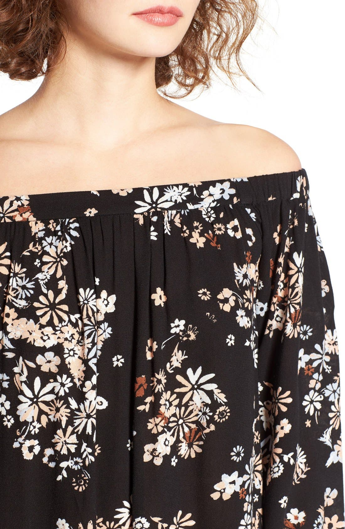 Off the Shoulder Tunic,                             Alternate thumbnail 46, color,