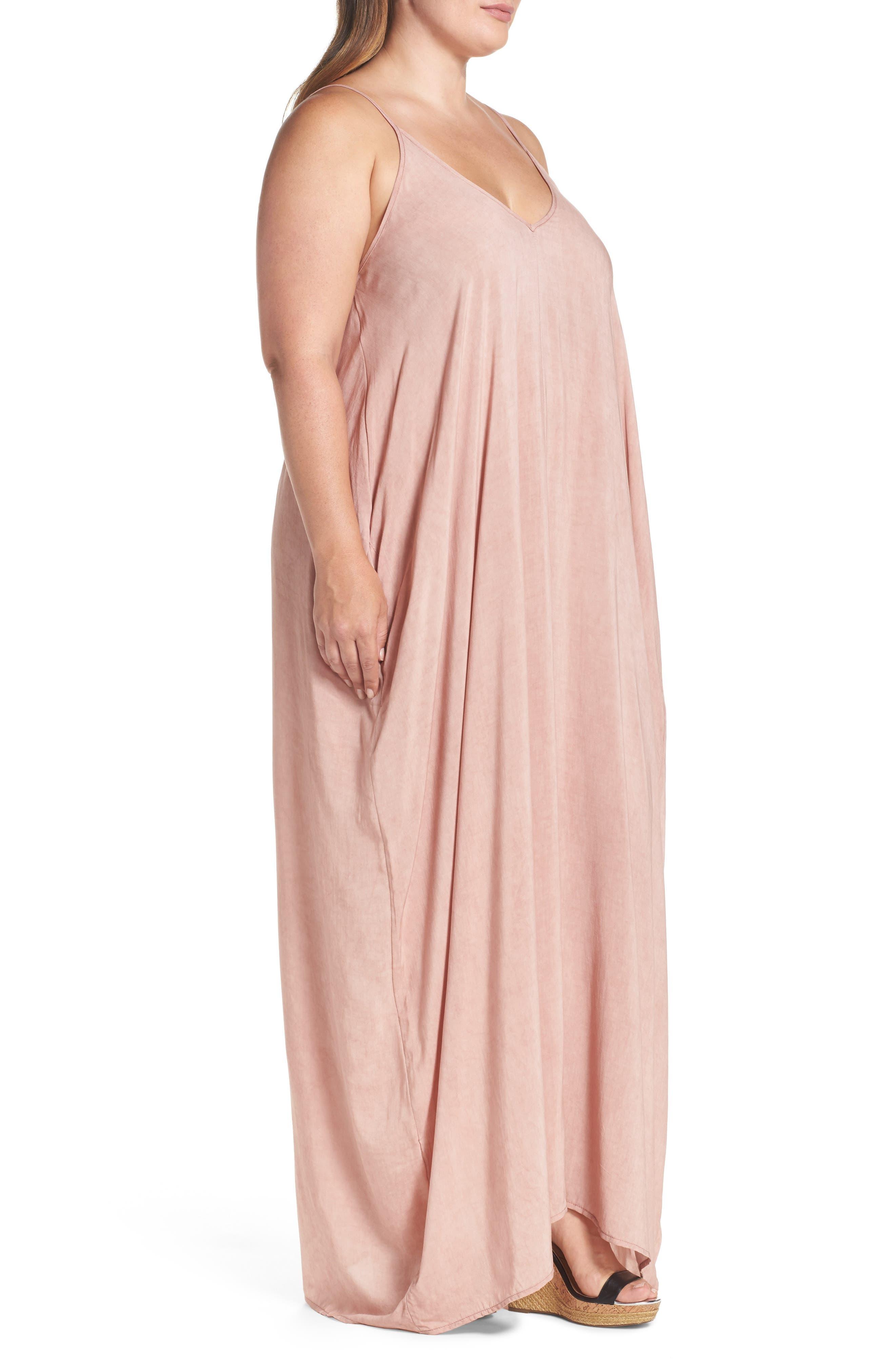 Cover-Up Maxi Dress,                             Alternate thumbnail 16, color,