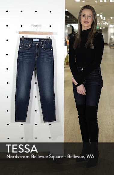 b(air) Kimmie Crop Straight Leg Jeans, sales video thumbnail