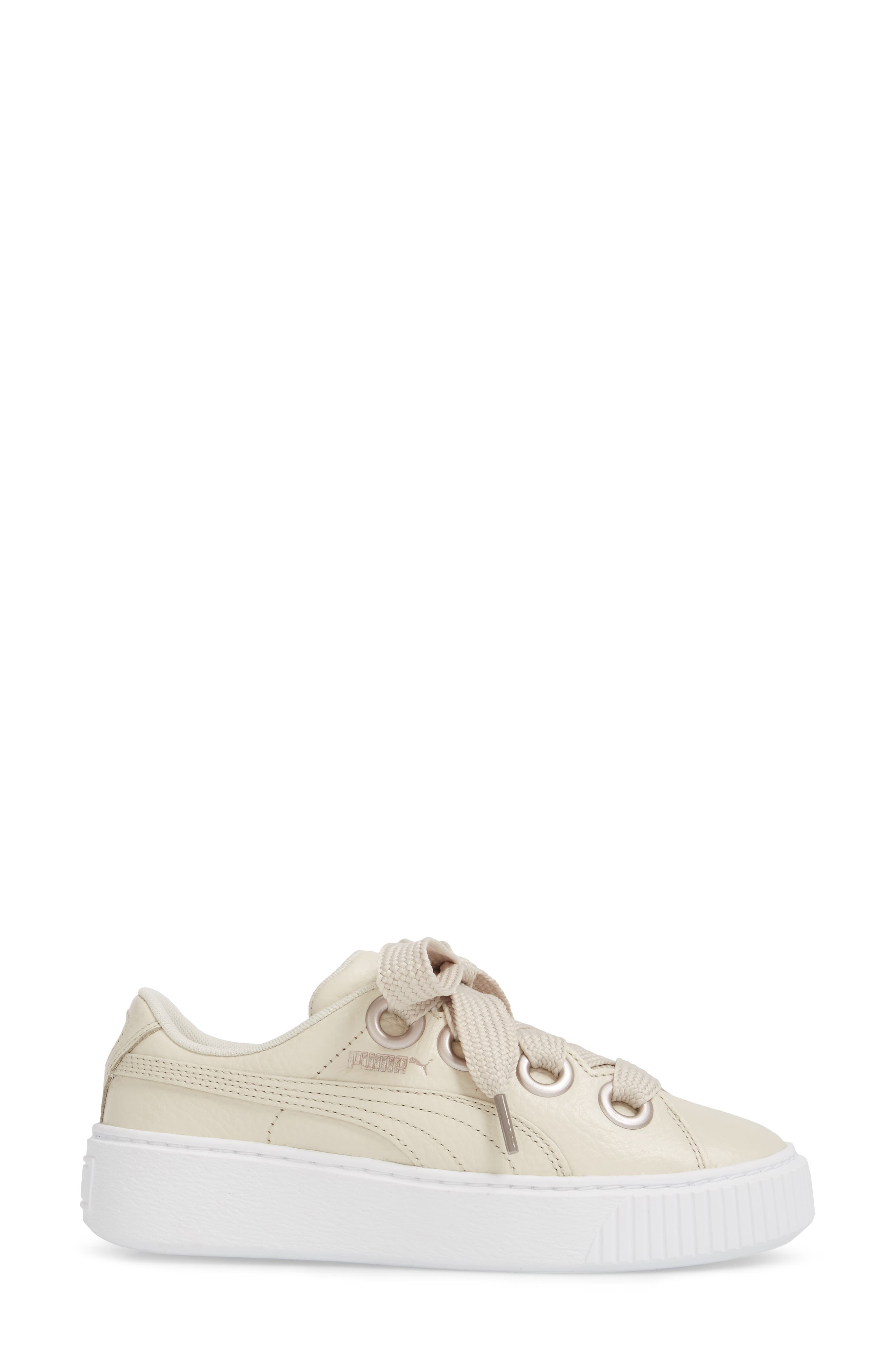 Platform Kiss Sneaker,                             Alternate thumbnail 3, color,
