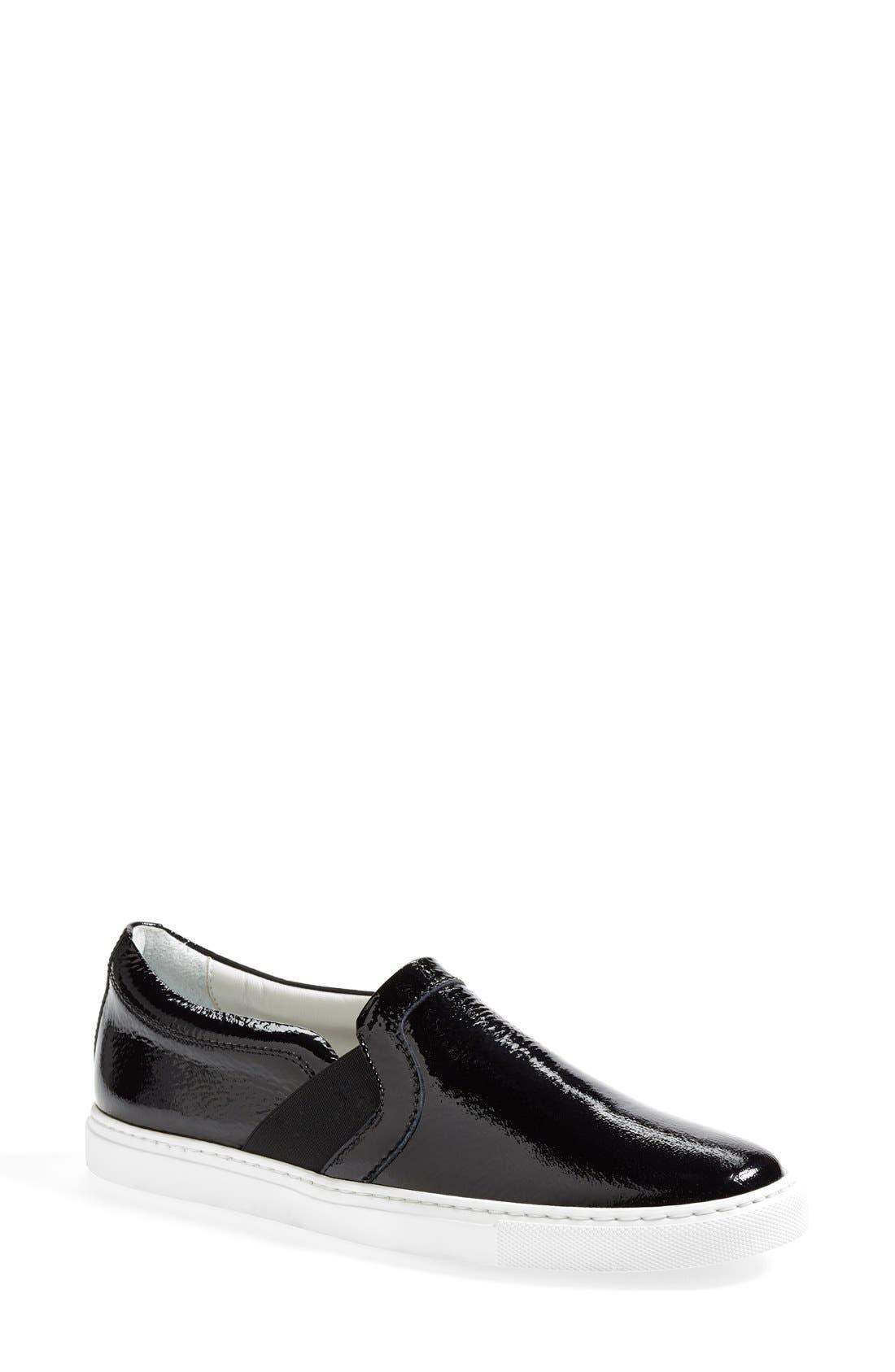 Patent Leather Skate Sneaker,                             Main thumbnail 1, color,