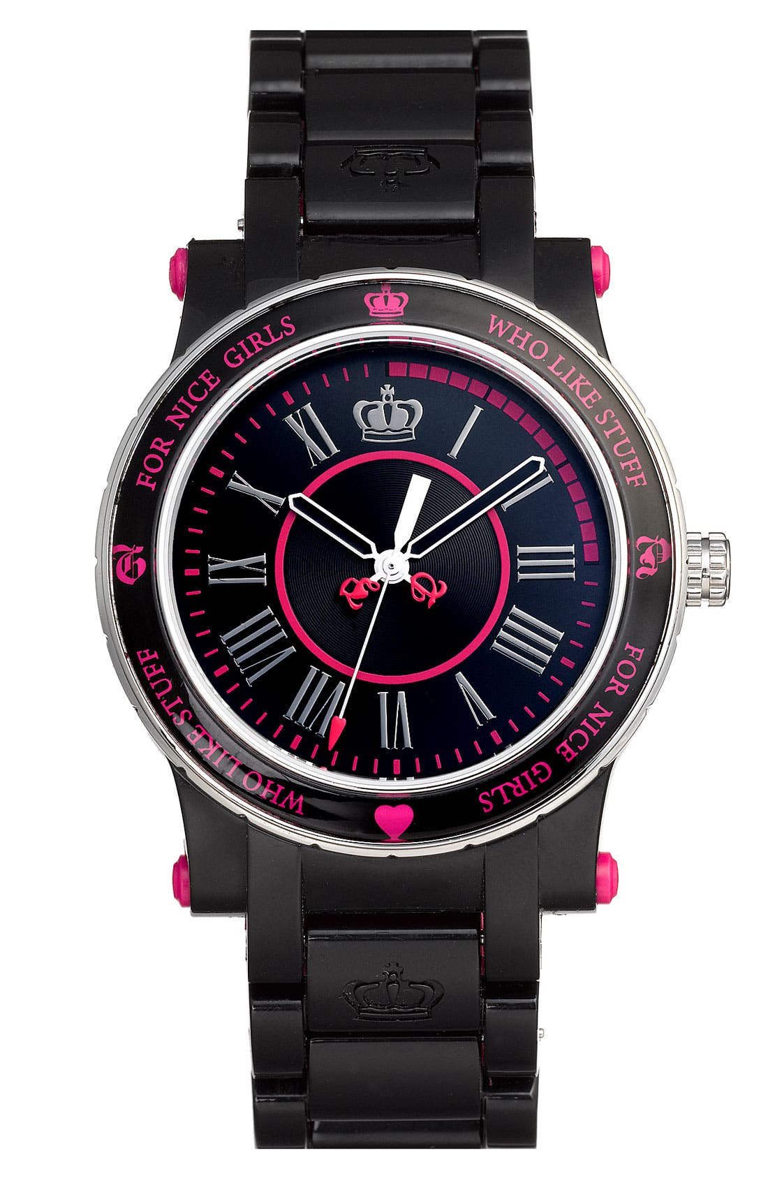 'Her Royal Highness' Plastic Watch,                         Main,                         color, 001