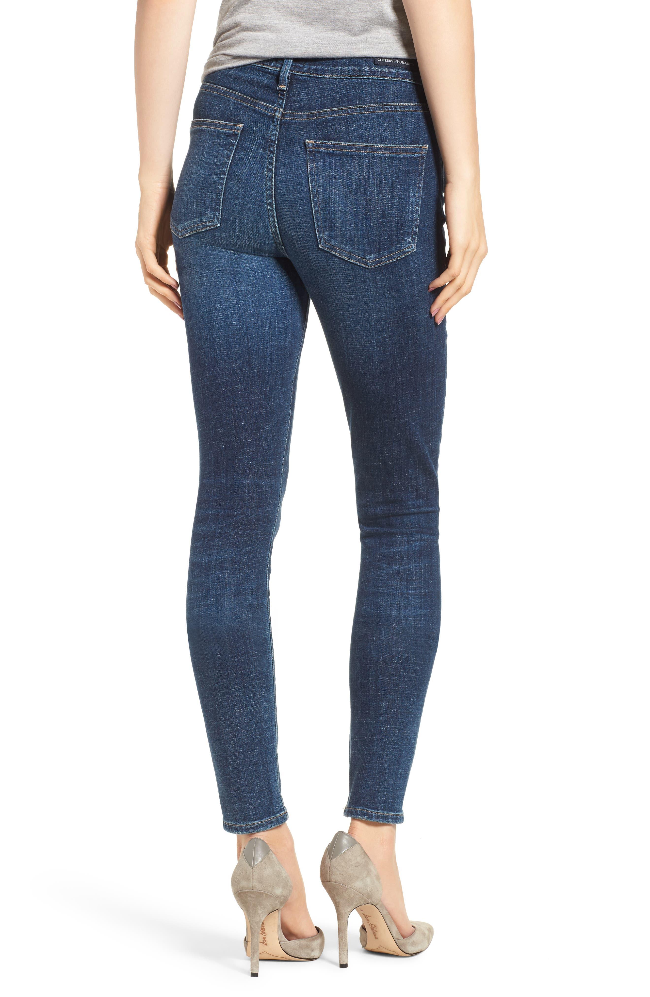 Rocket High Waist Skinny Jeans,                             Alternate thumbnail 2, color,                             428