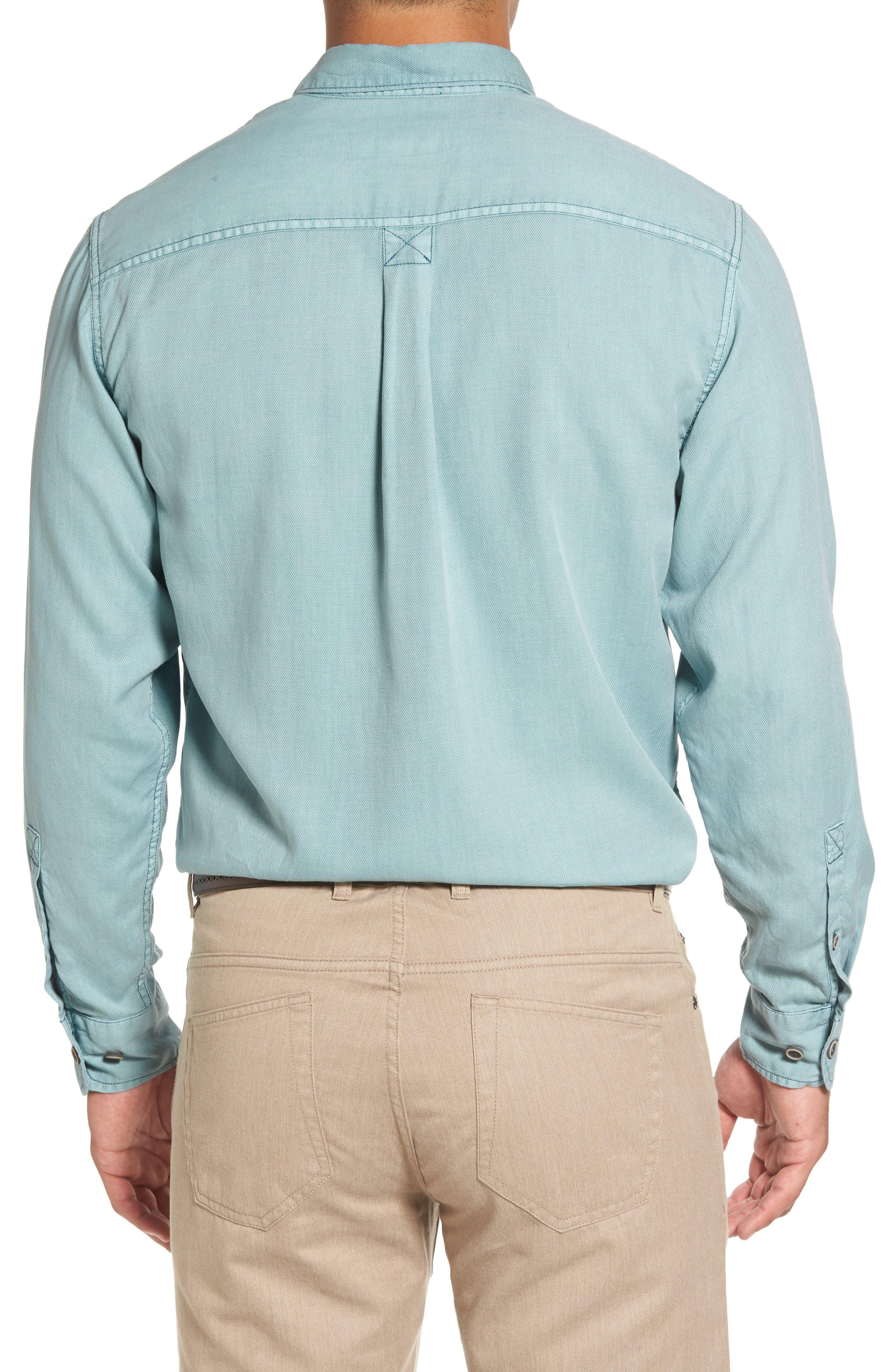 Dobby Dylan Sport Shirt,                             Alternate thumbnail 4, color,