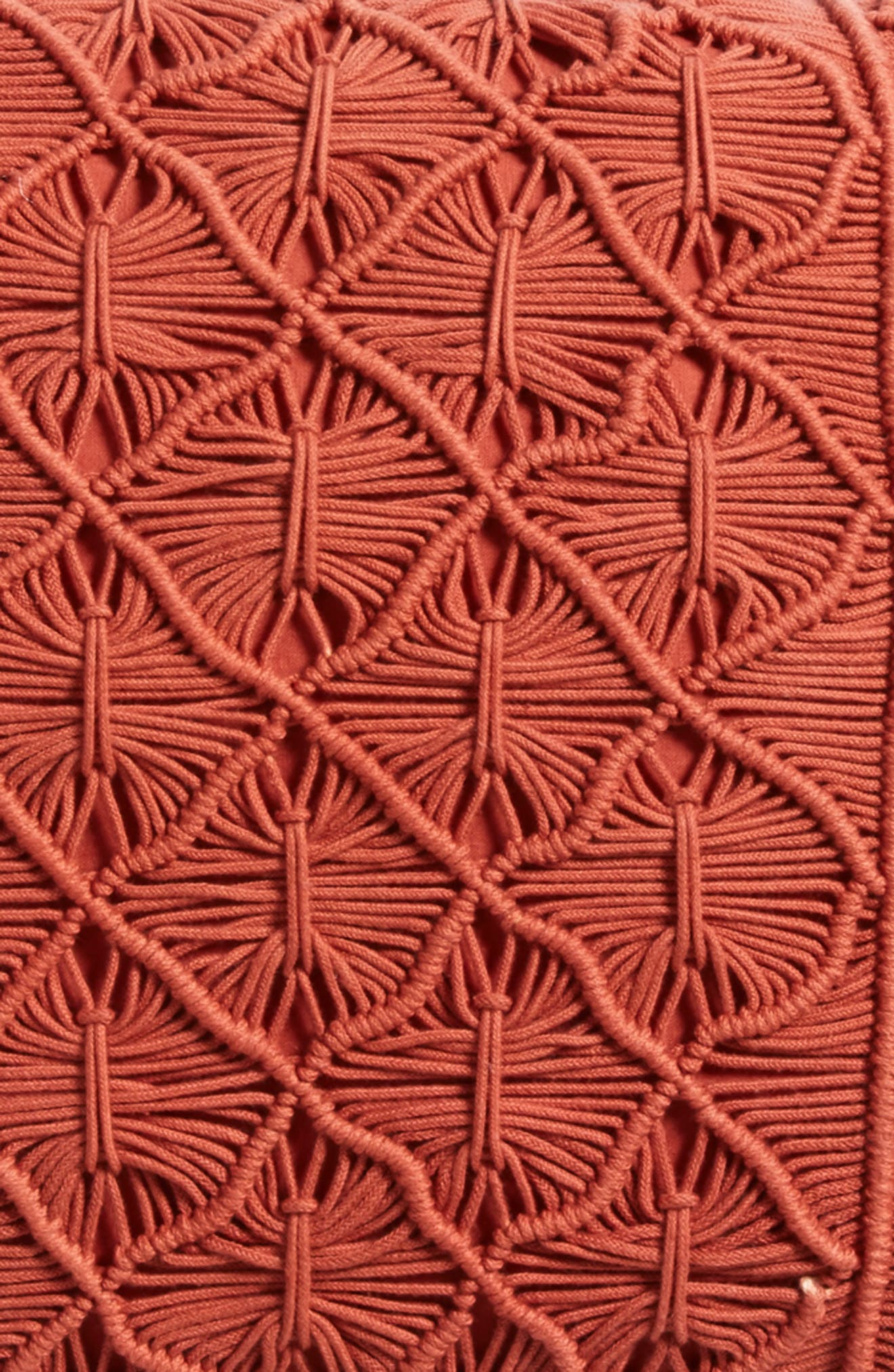 Macramé Accent Pillow,                             Alternate thumbnail 3, color,                             220