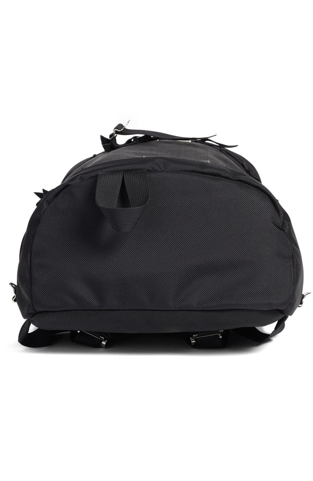 'Flip' Nylon Backpack,                             Alternate thumbnail 4, color,                             001