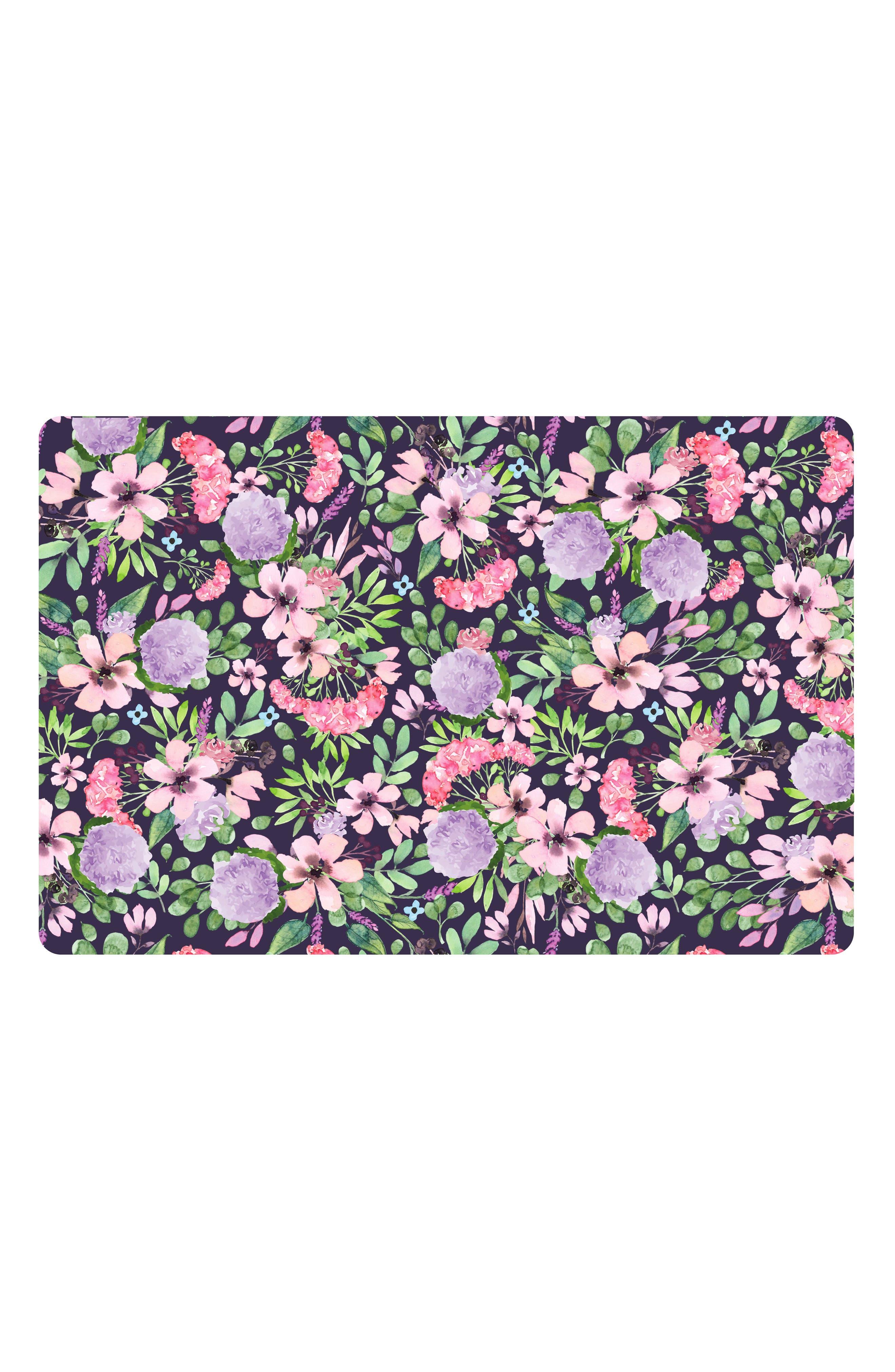 Floral Medley Monthly Memory Blanket & Swaddle Set,                             Main thumbnail 1, color,                             FLORAL MEDLEY
