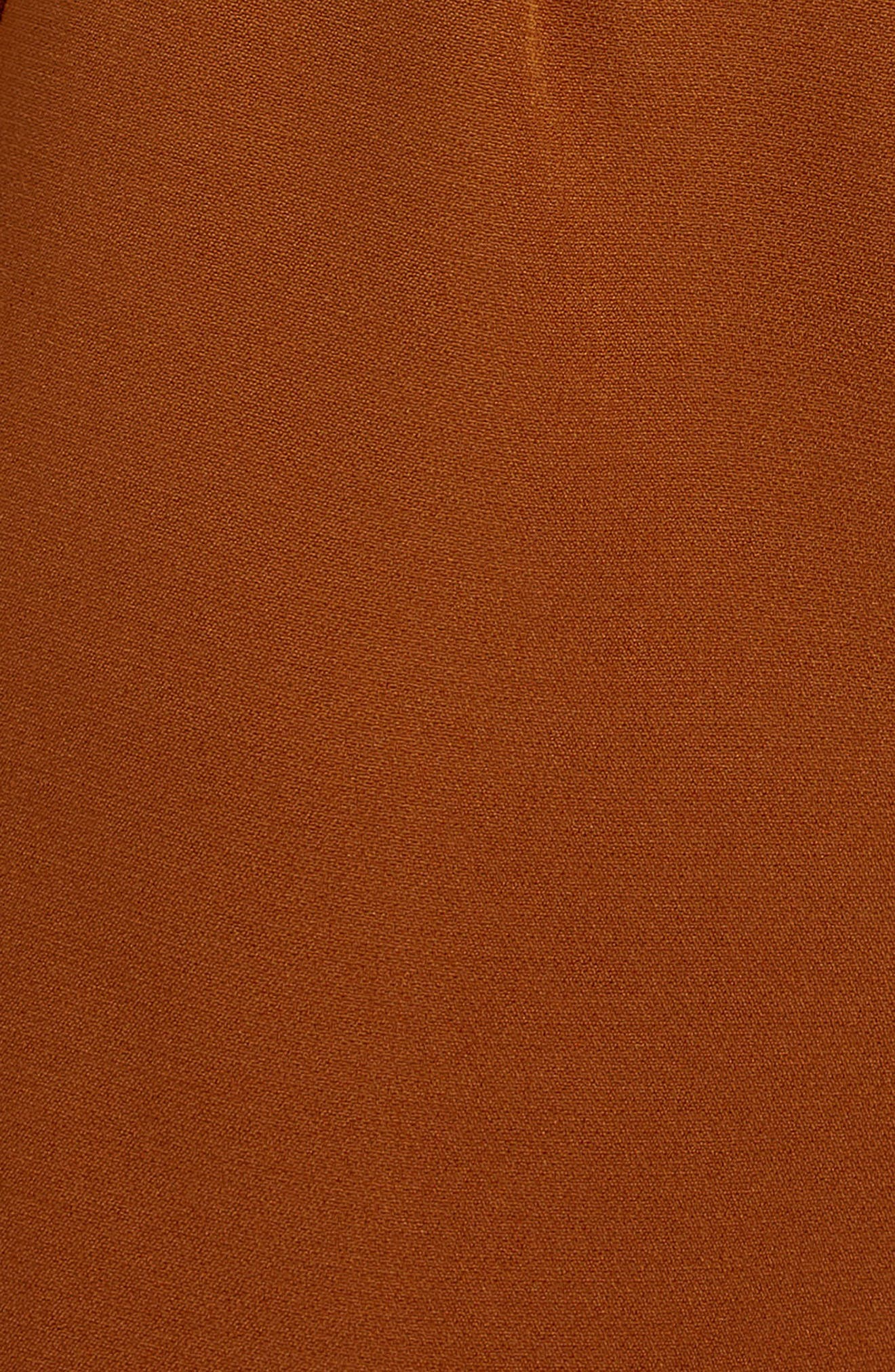 Crepe Wide Leg Trousers,                             Alternate thumbnail 4, color,                             200