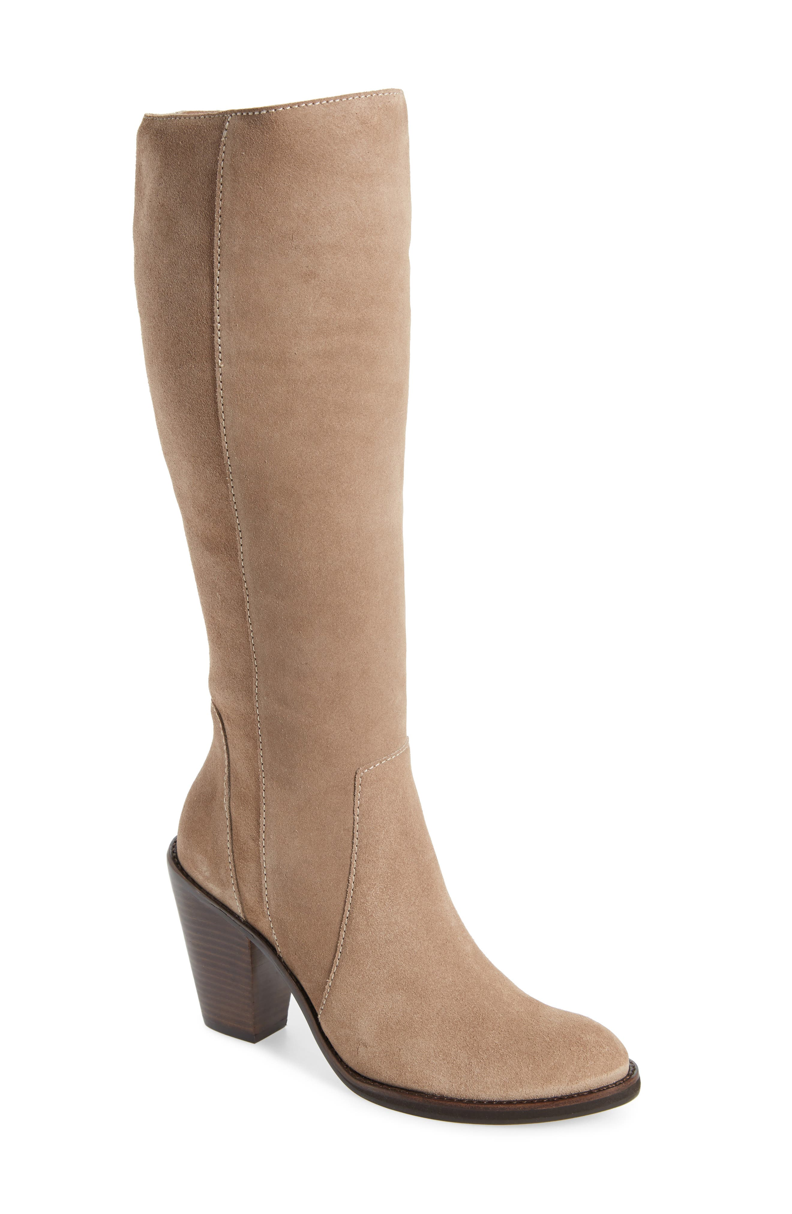 LUST FOR LIFE Jordan Boot in Taupe Suede