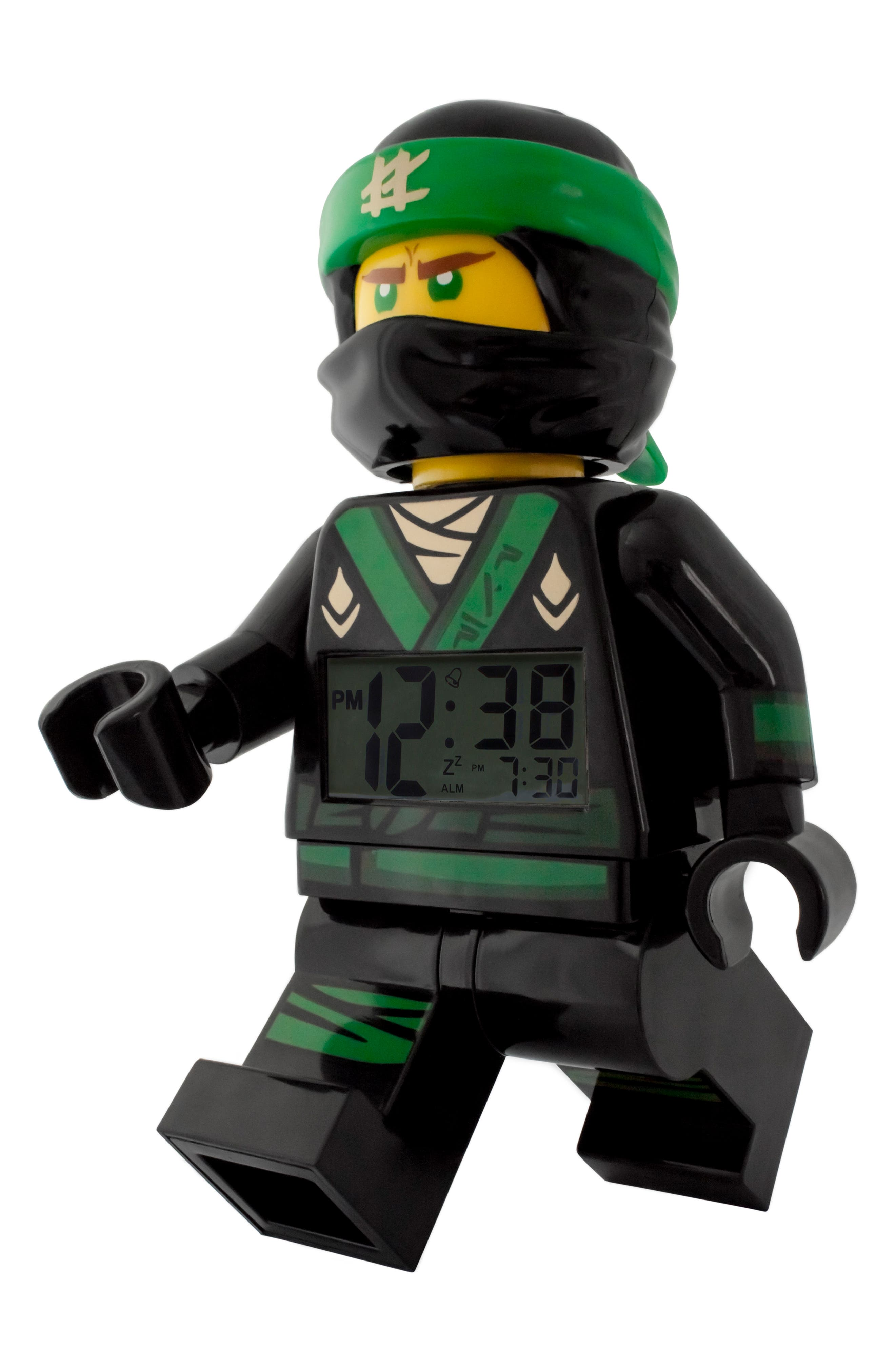 Ninjago Lloyd Digital Alarm Clock Minifigure,                             Alternate thumbnail 2, color,