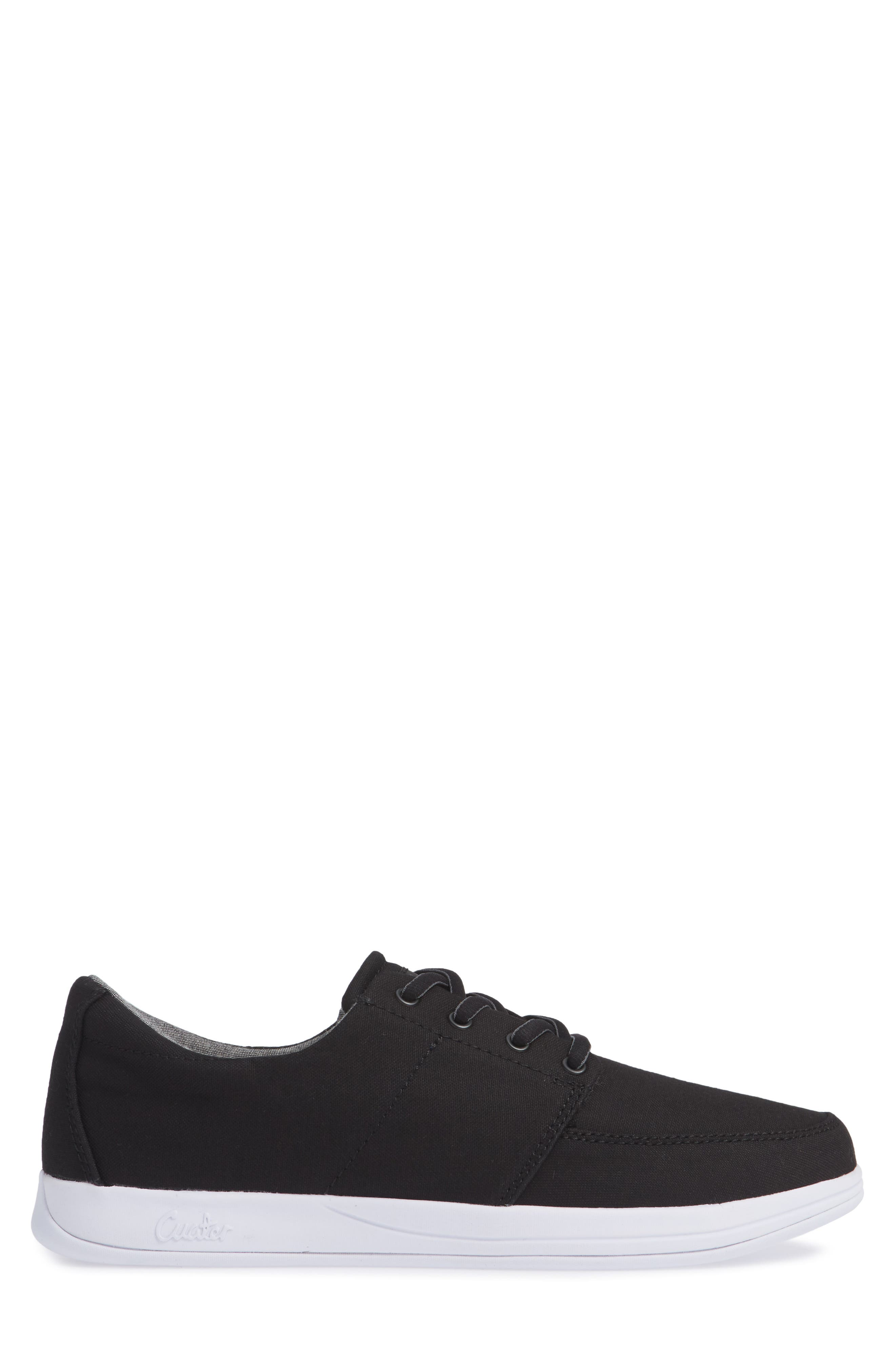 Cuater by Travis Mathew  Quincy Sneaker,                             Alternate thumbnail 3, color,                             BLACK