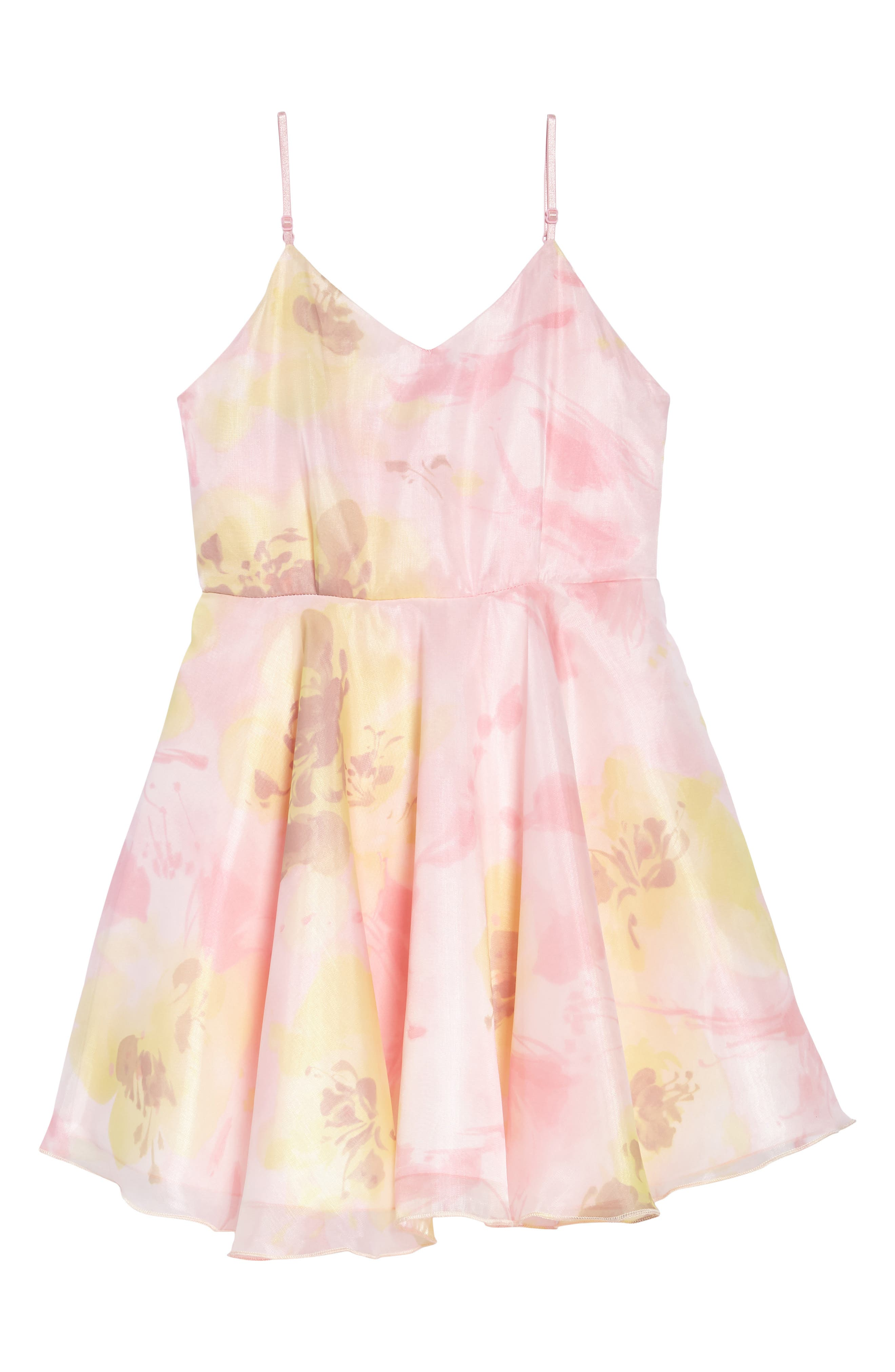 UN DEUX TROIS Tutu Party Dress, Main, color, 650