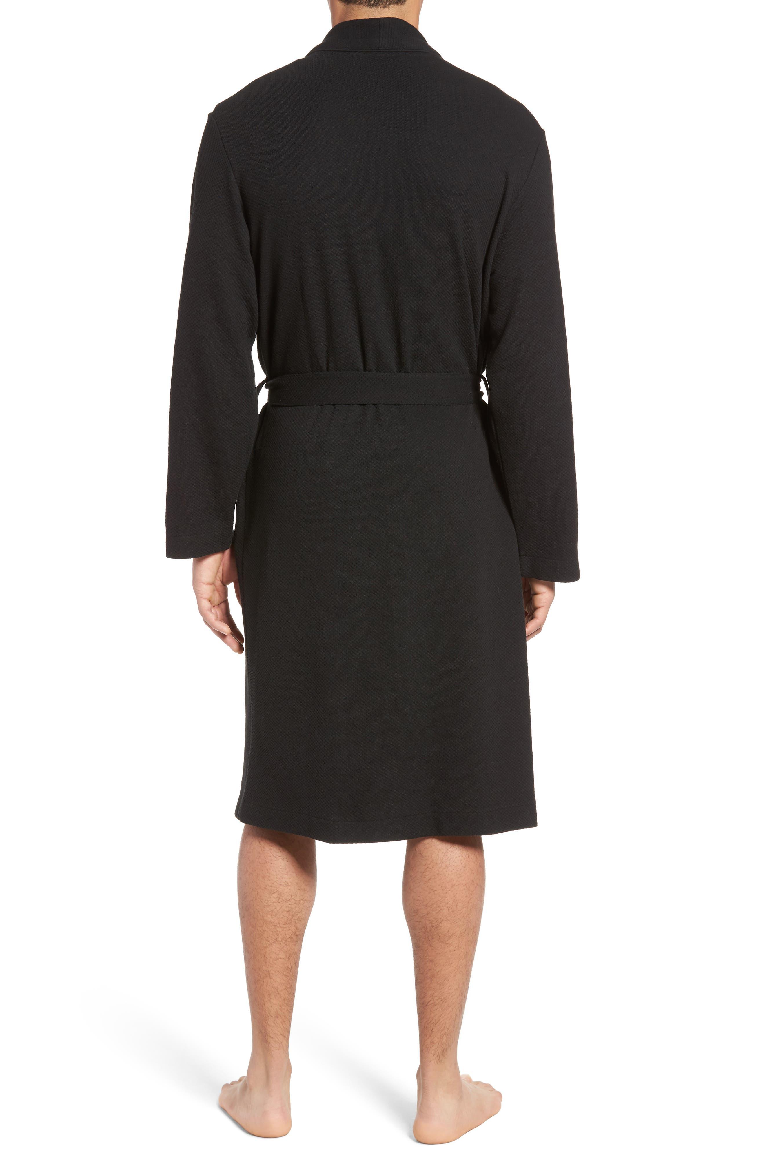 Thermal Robe,                             Alternate thumbnail 2, color,                             BLACK