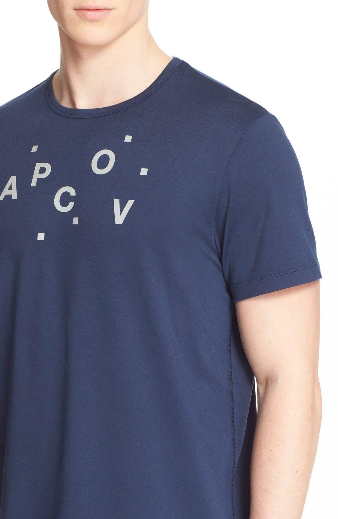 and Outdoor Voices 'Austin' Crewneck Logo T-Shirt,                             Alternate thumbnail 4, color,                             410