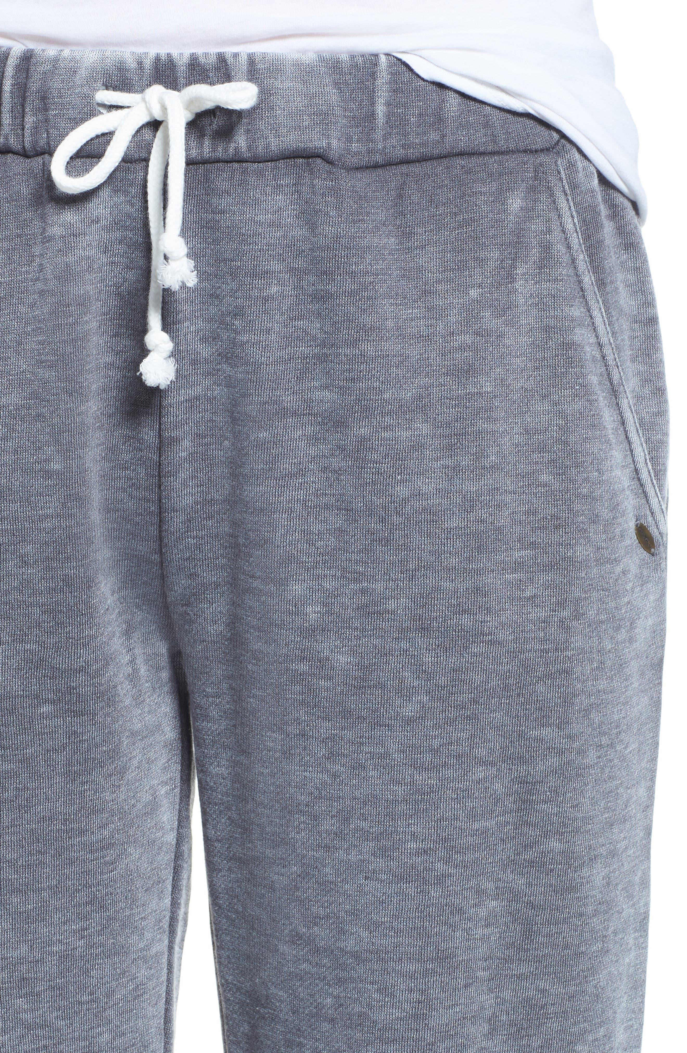 Riya Fashion Fleece Sweatpants,                             Alternate thumbnail 4, color,                             020