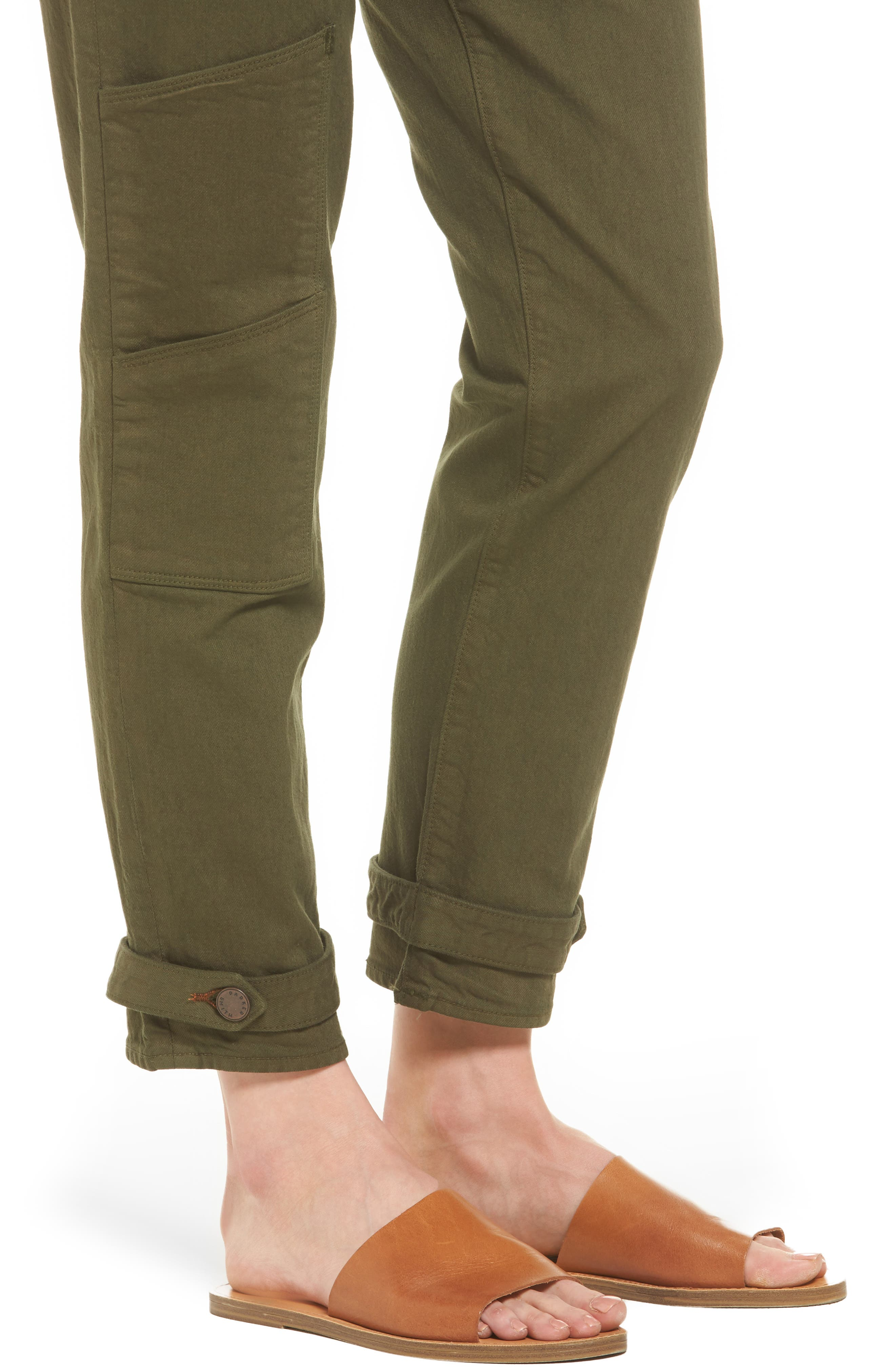 Relaxed Utility Pants,                             Alternate thumbnail 4, color,                             338