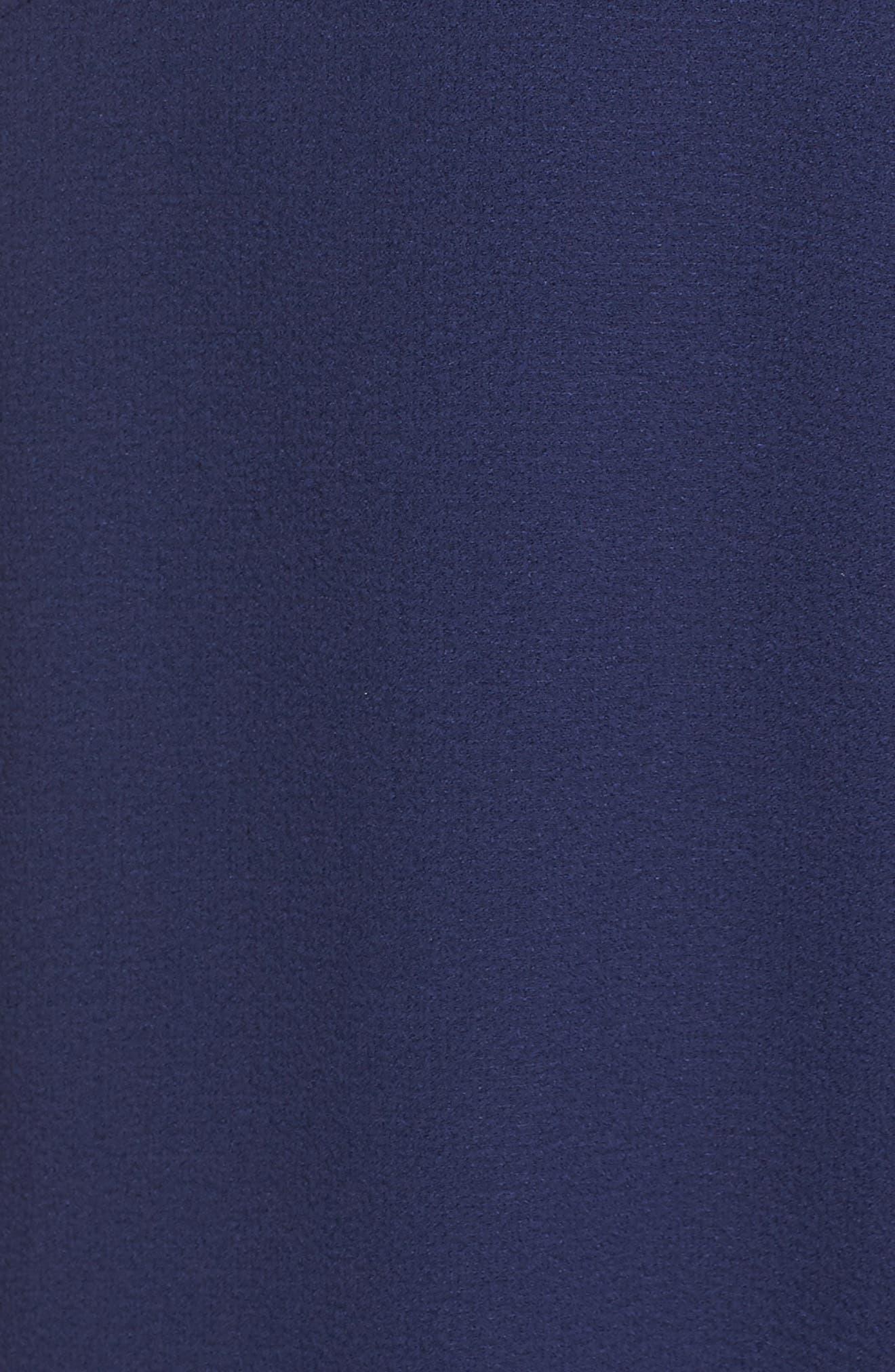 Georgette Faux Wrap Dress,                             Alternate thumbnail 6, color,                             460
