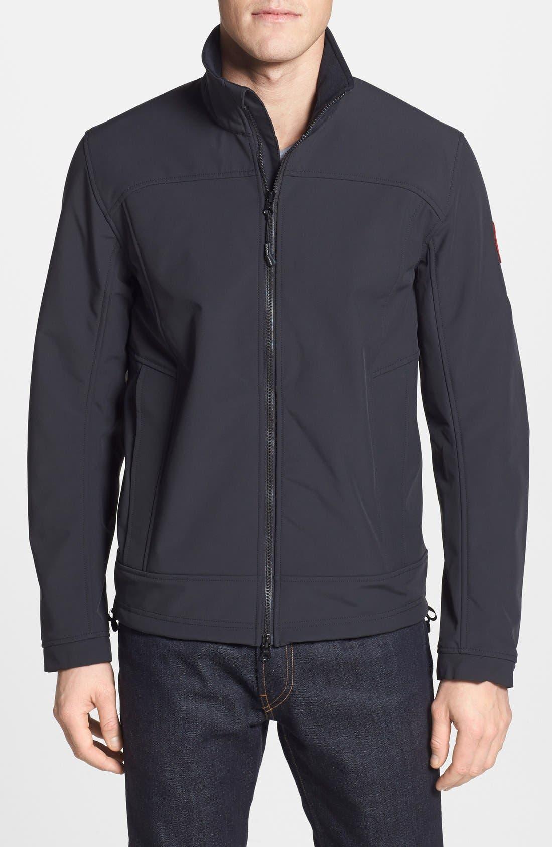 'Bracebridge' Water Resistant Jacket, Main, color, 001