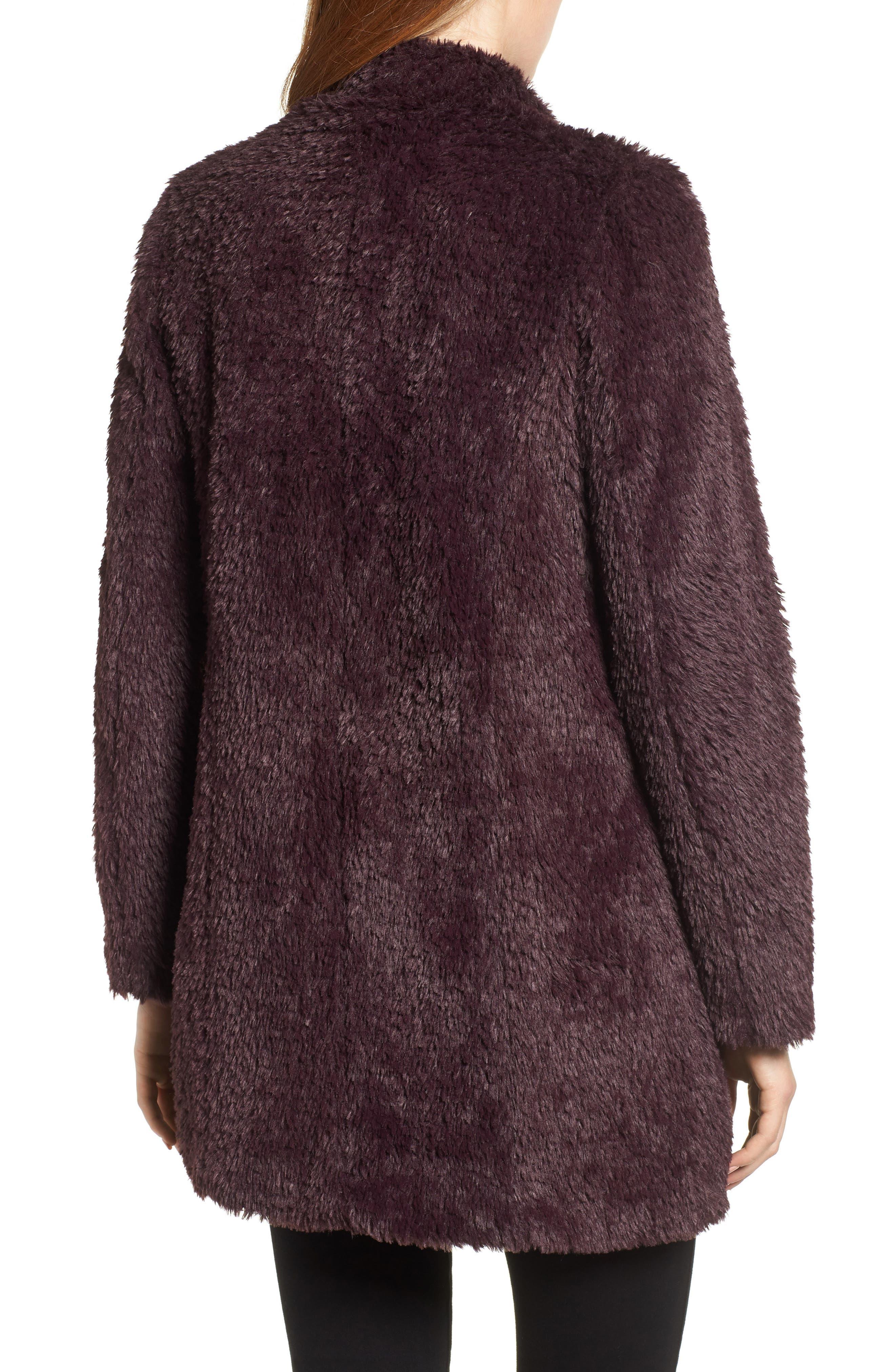 Faux Fur Jacket,                             Alternate thumbnail 10, color,