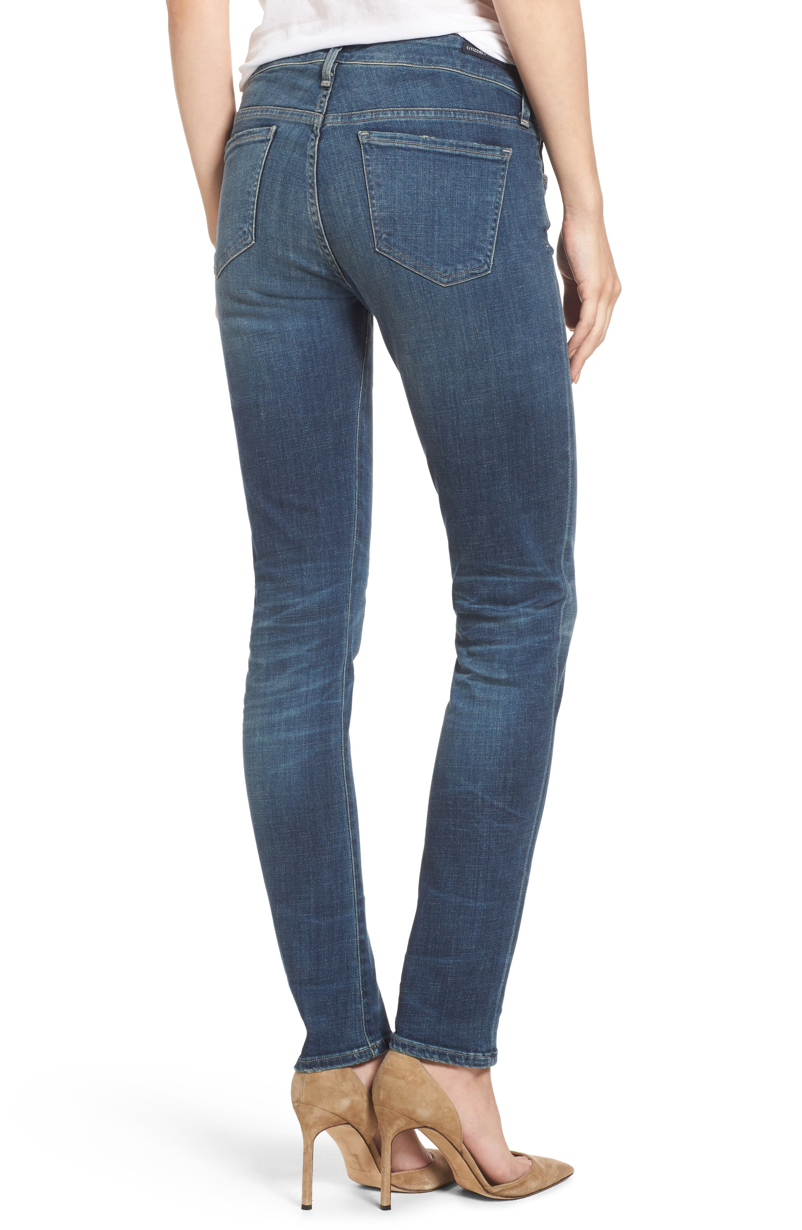 Arielle Slim Jeans,                             Alternate thumbnail 2, color,