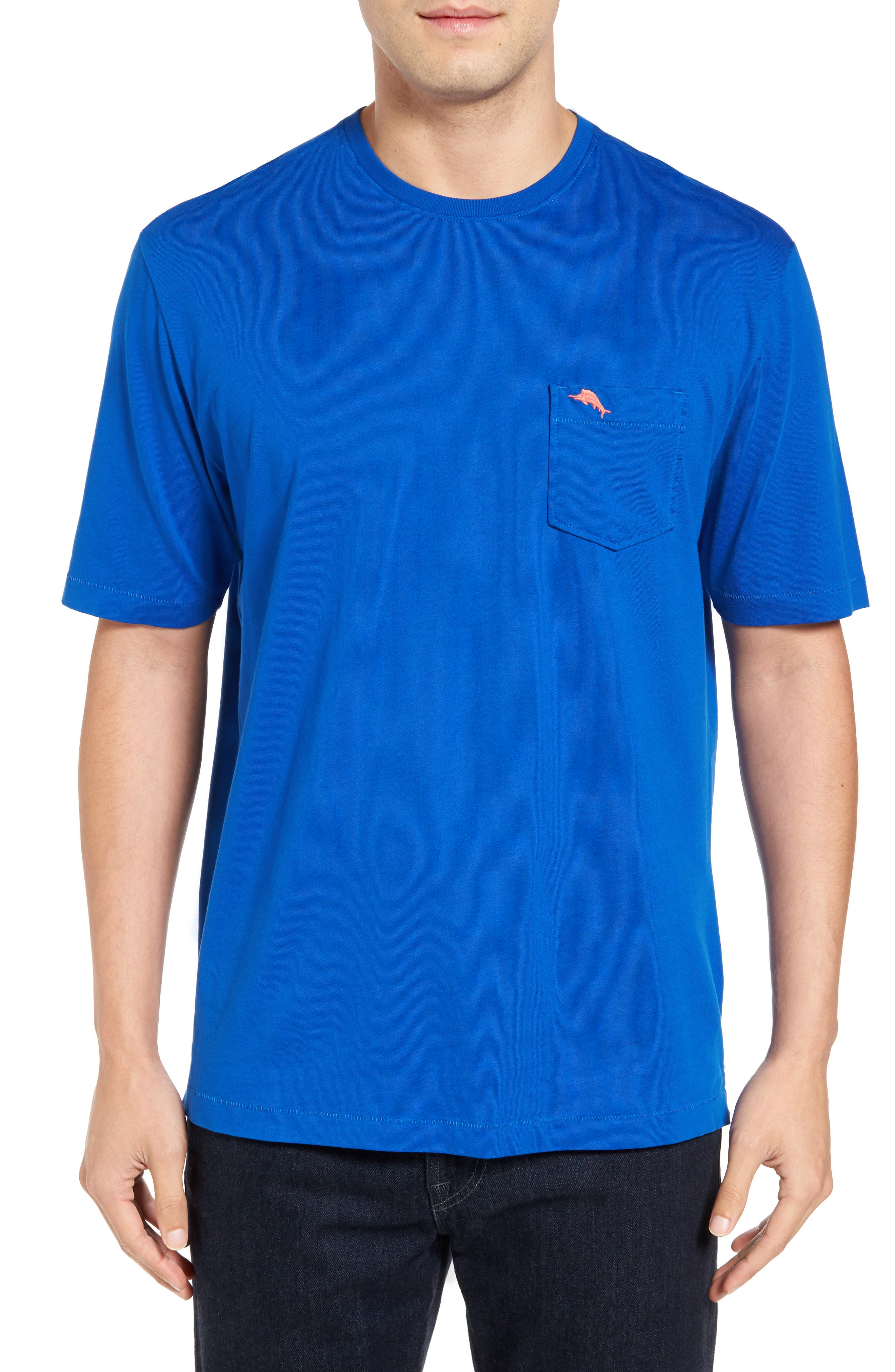 New Bali Sky Pima Cotton Pocket T-Shirt,                             Main thumbnail 39, color,