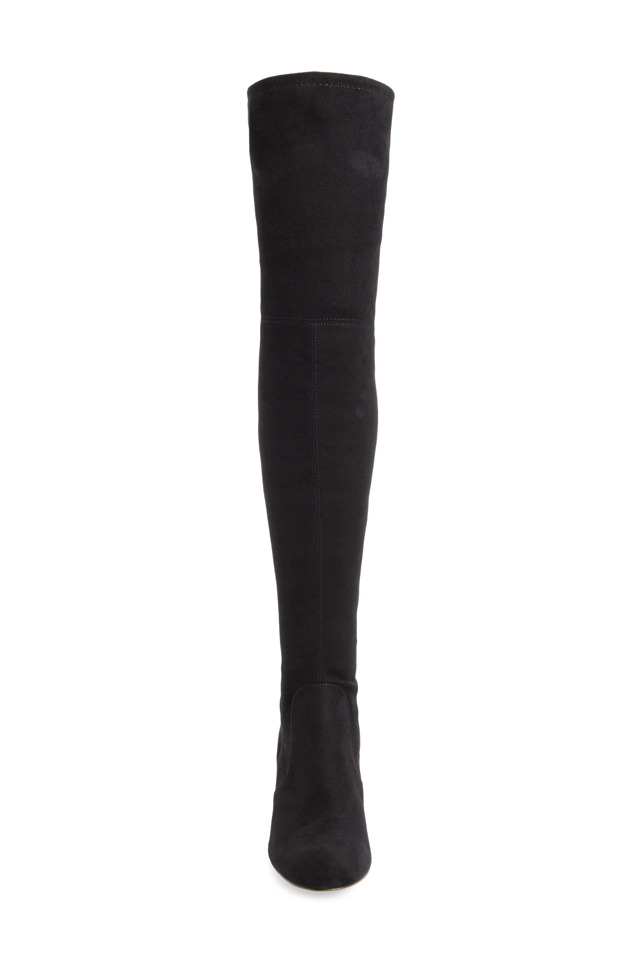 Owen Over the Knee Boot,                             Alternate thumbnail 4, color,                             001