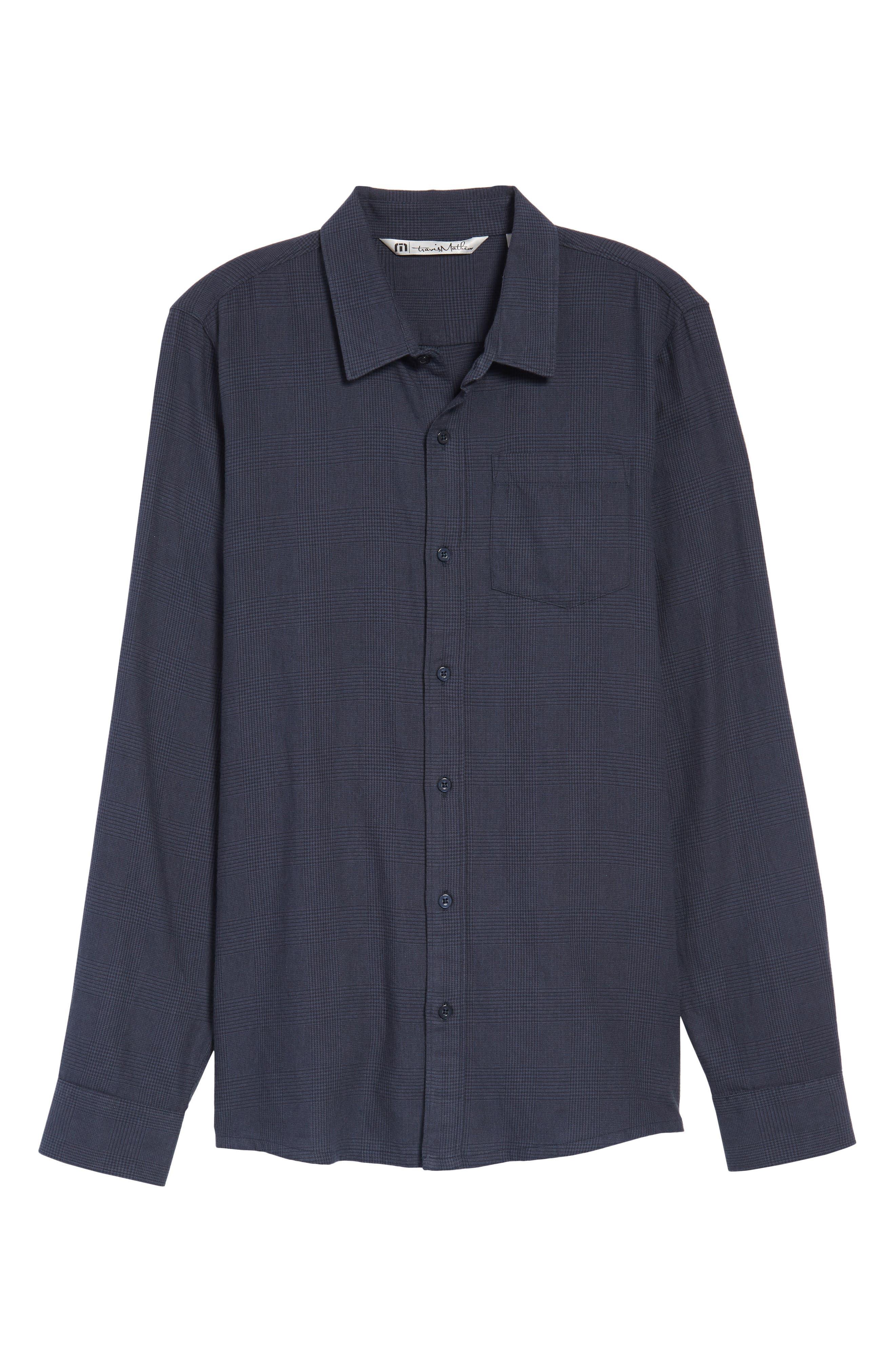 Overly Glen Plaid Sport Shirt,                             Alternate thumbnail 6, color,                             400