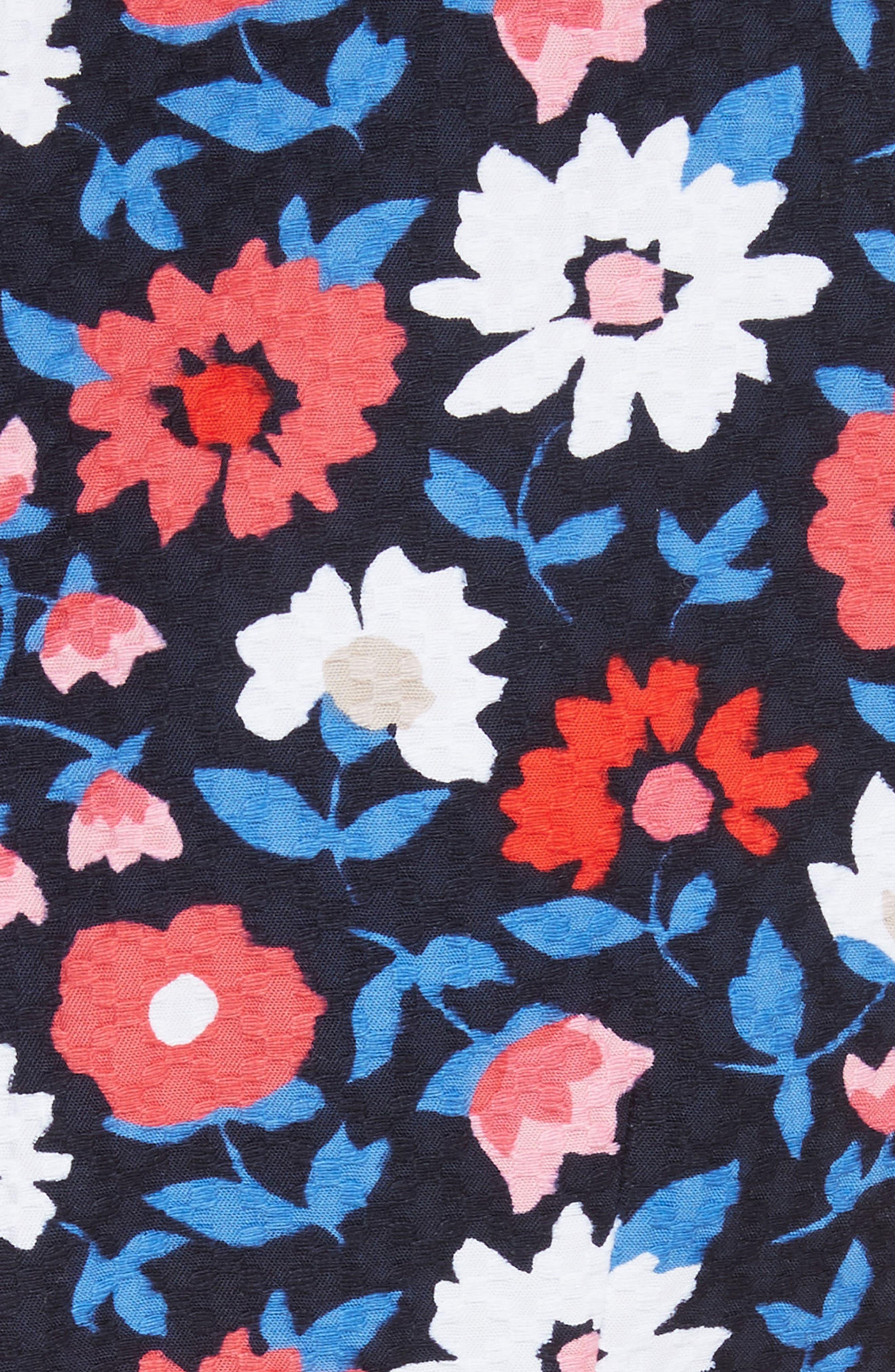 kate spade daisy jacquard sheath dress,                             Alternate thumbnail 5, color,